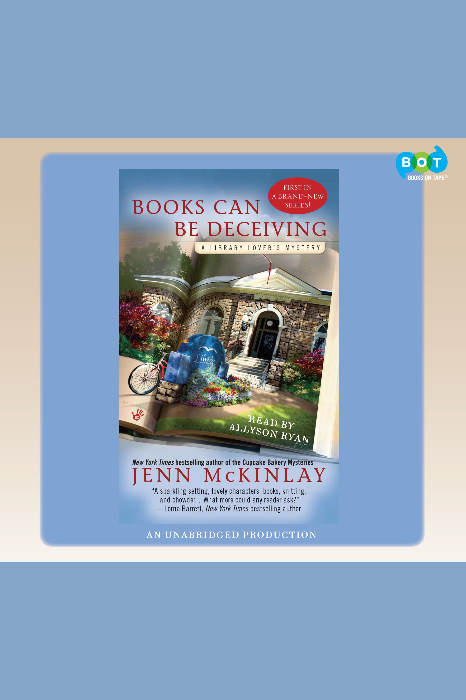 Books can be deceiving cover image