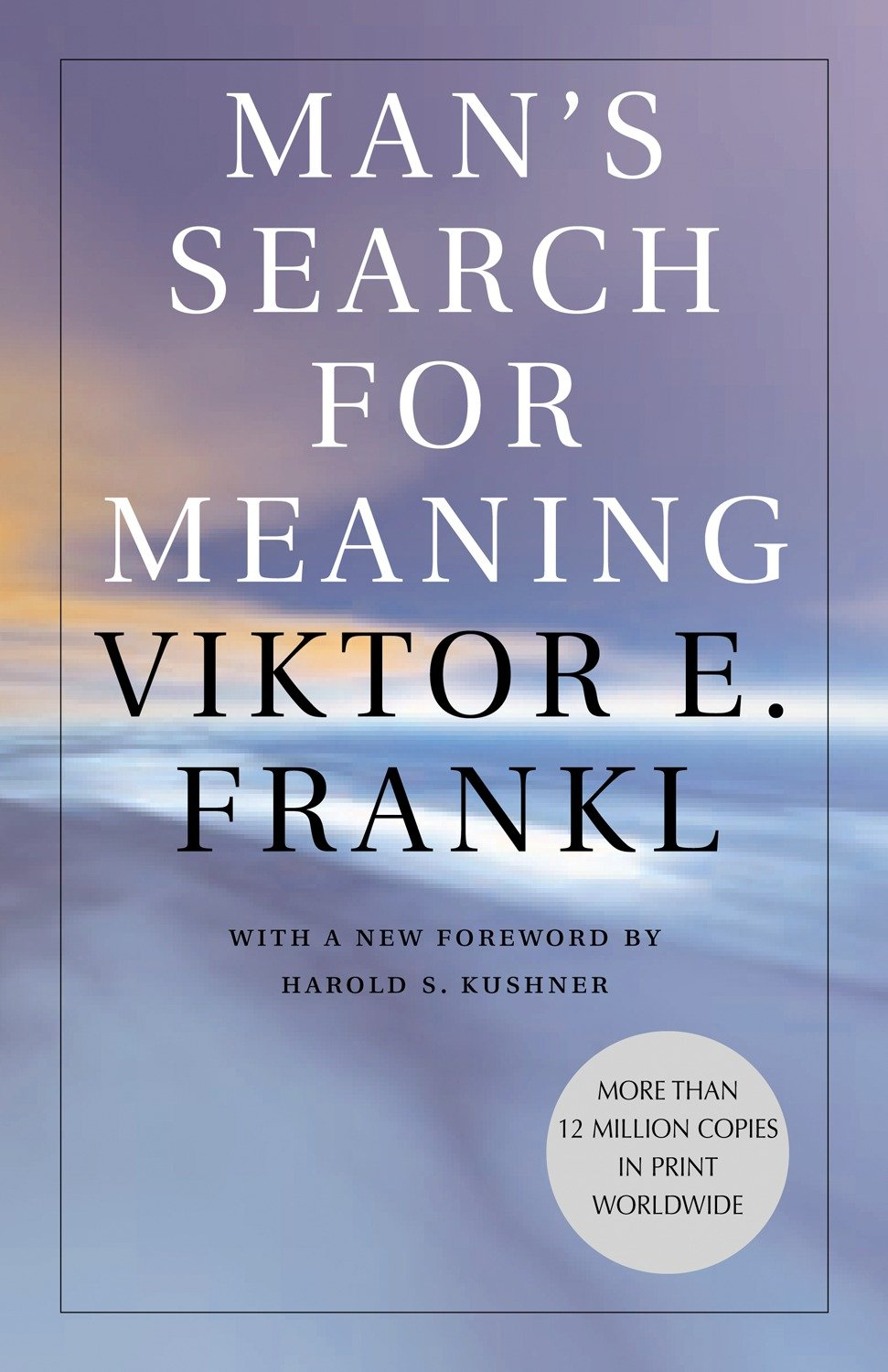 Man's search for meaning [eBook]