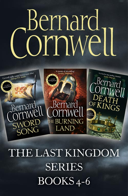 Cover Image of The Last Kingdom Series Books 4-6: Sword Song, The Burning Land, Death of Kings (The Last Kingdom Series)