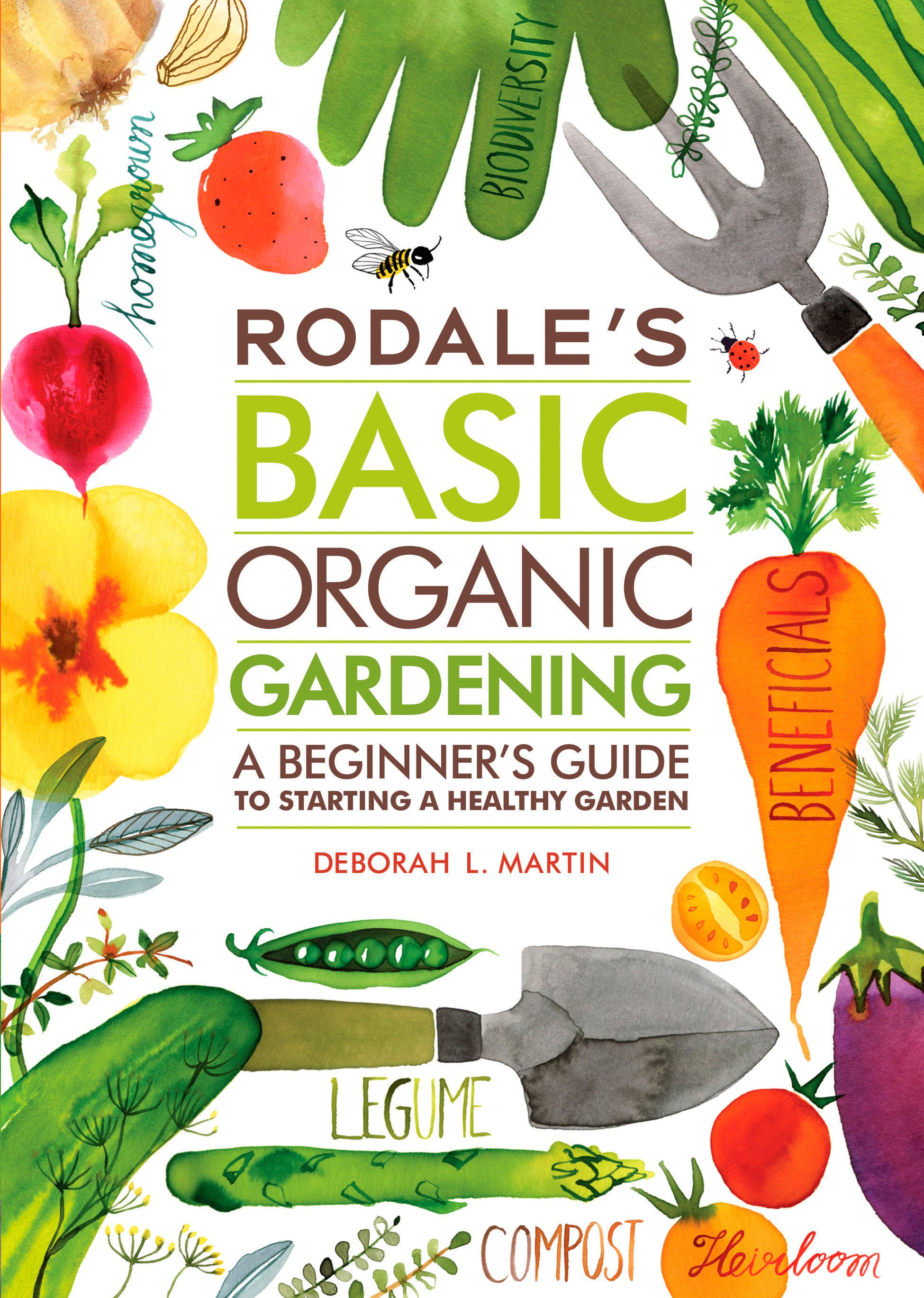 Cover Image of Rodale's Basic Organic Gardening