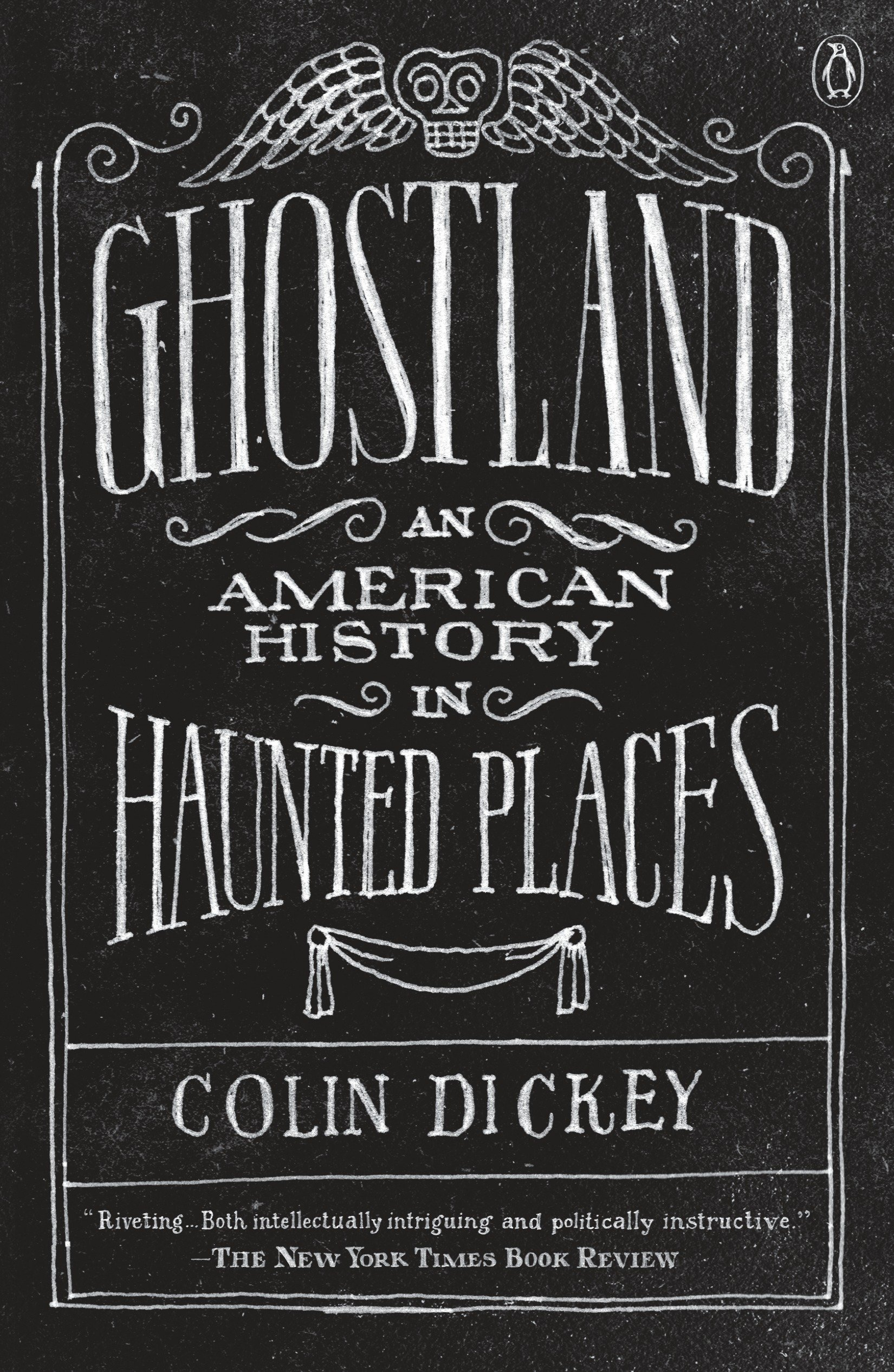 Cover image for Ghostland [electronic resource] : An American History in Haunted Places