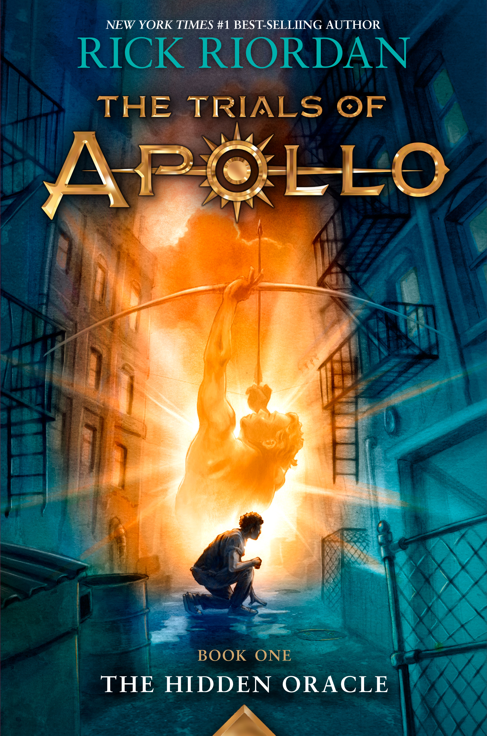 Cover Image of The Trials of Apollo, Book One: The Hidden Oracle