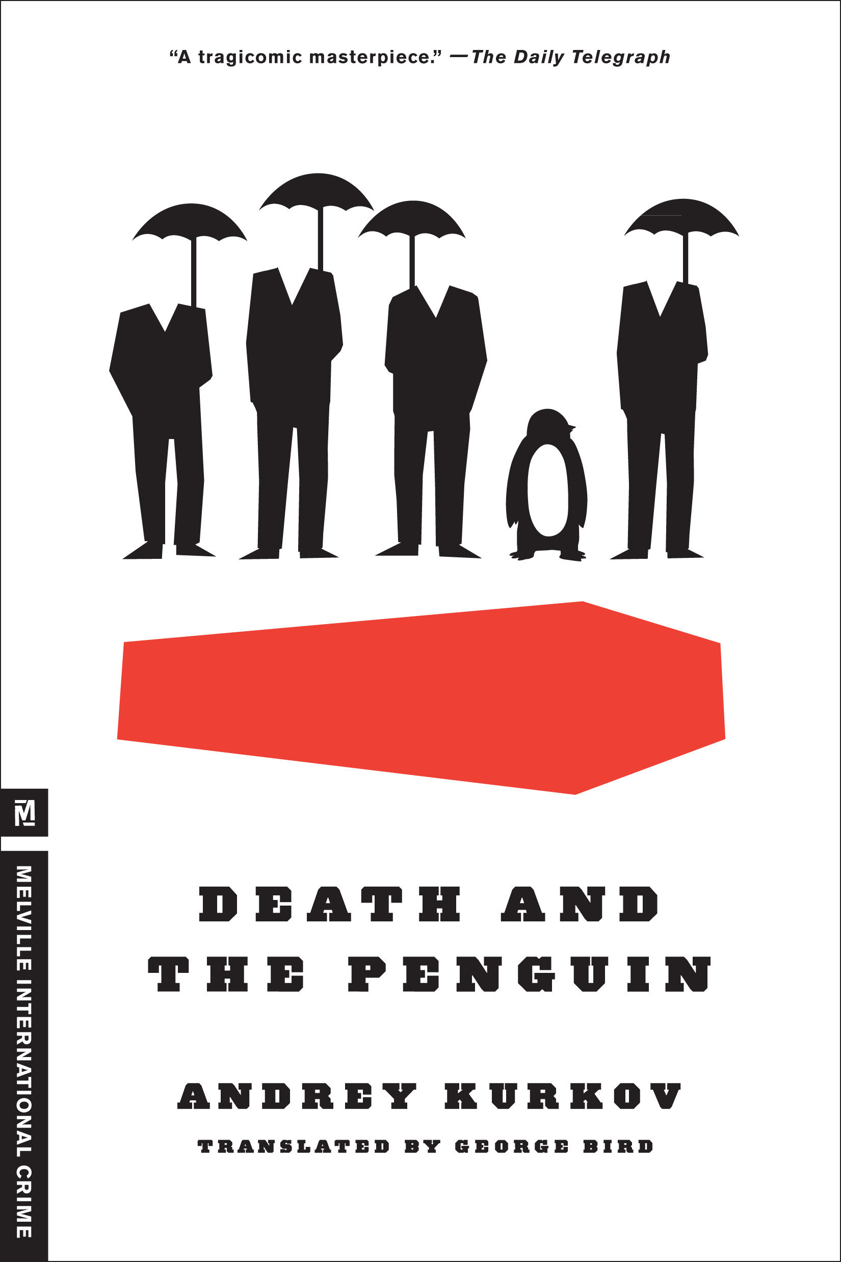 Death and the penguin cover image