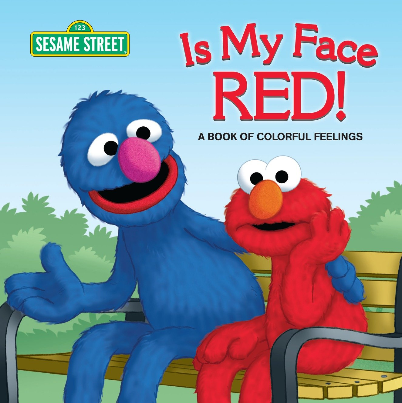 Cover Image of Is My Face Red! (Sesame Street)