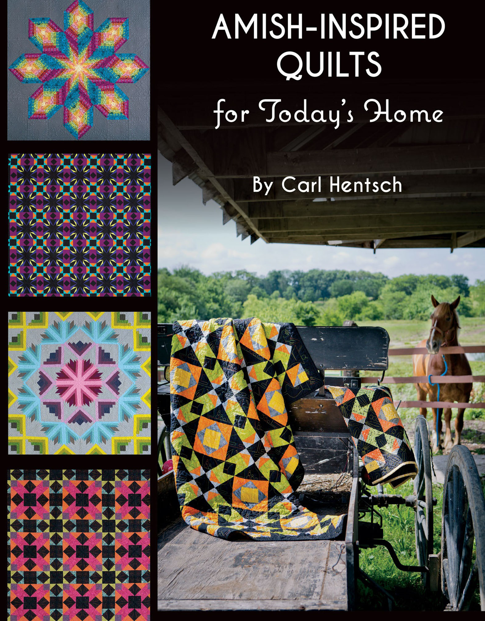 Amish-Inspired Quilts for Today's Home 10 Brilliant Patchwork Quilts