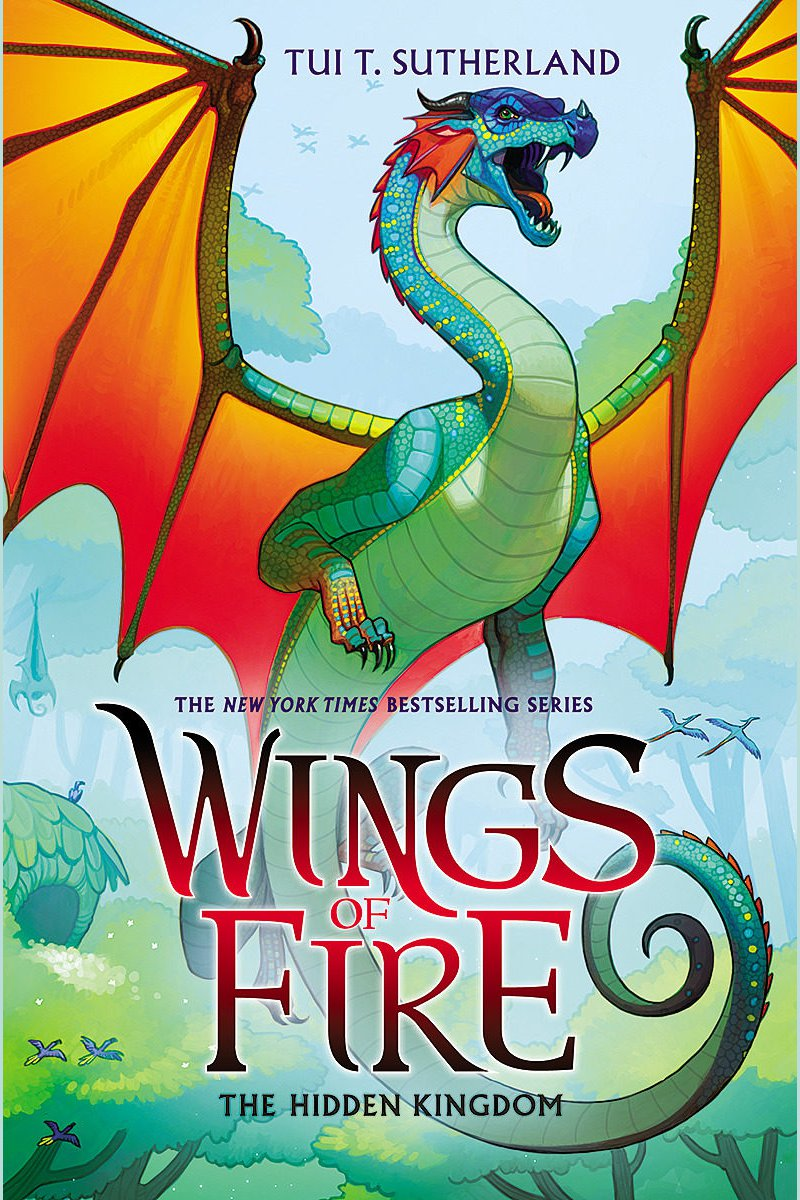 Wings of Fire, Book #3 The Hidden Kingdom