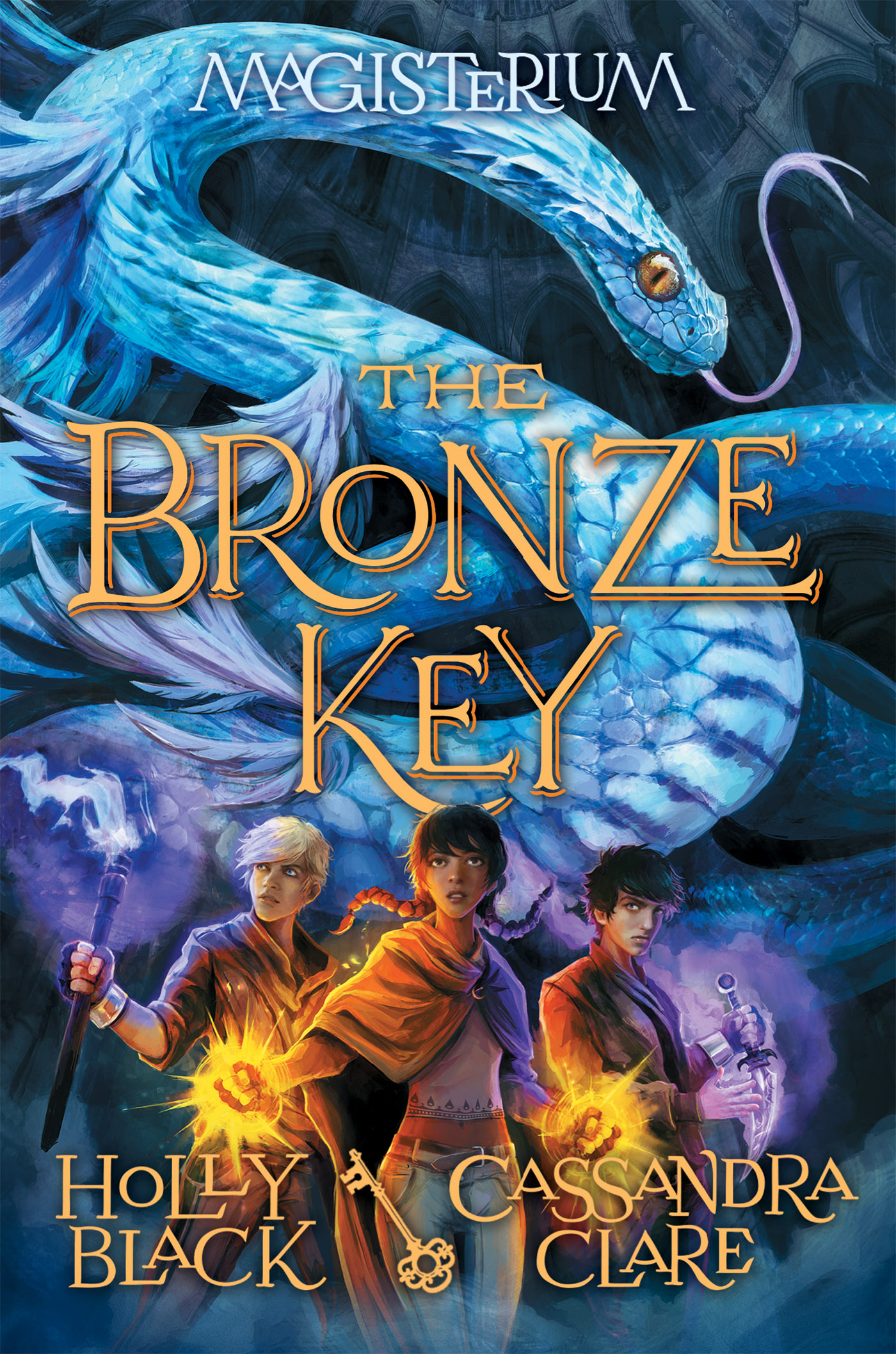 Cover Image of The Bronze Key (Magisterium #3)
