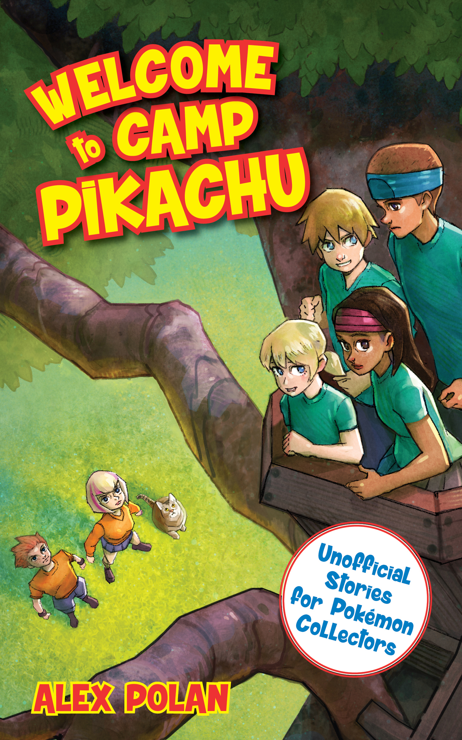 Cover Image of Welcome to Camp Pikachu