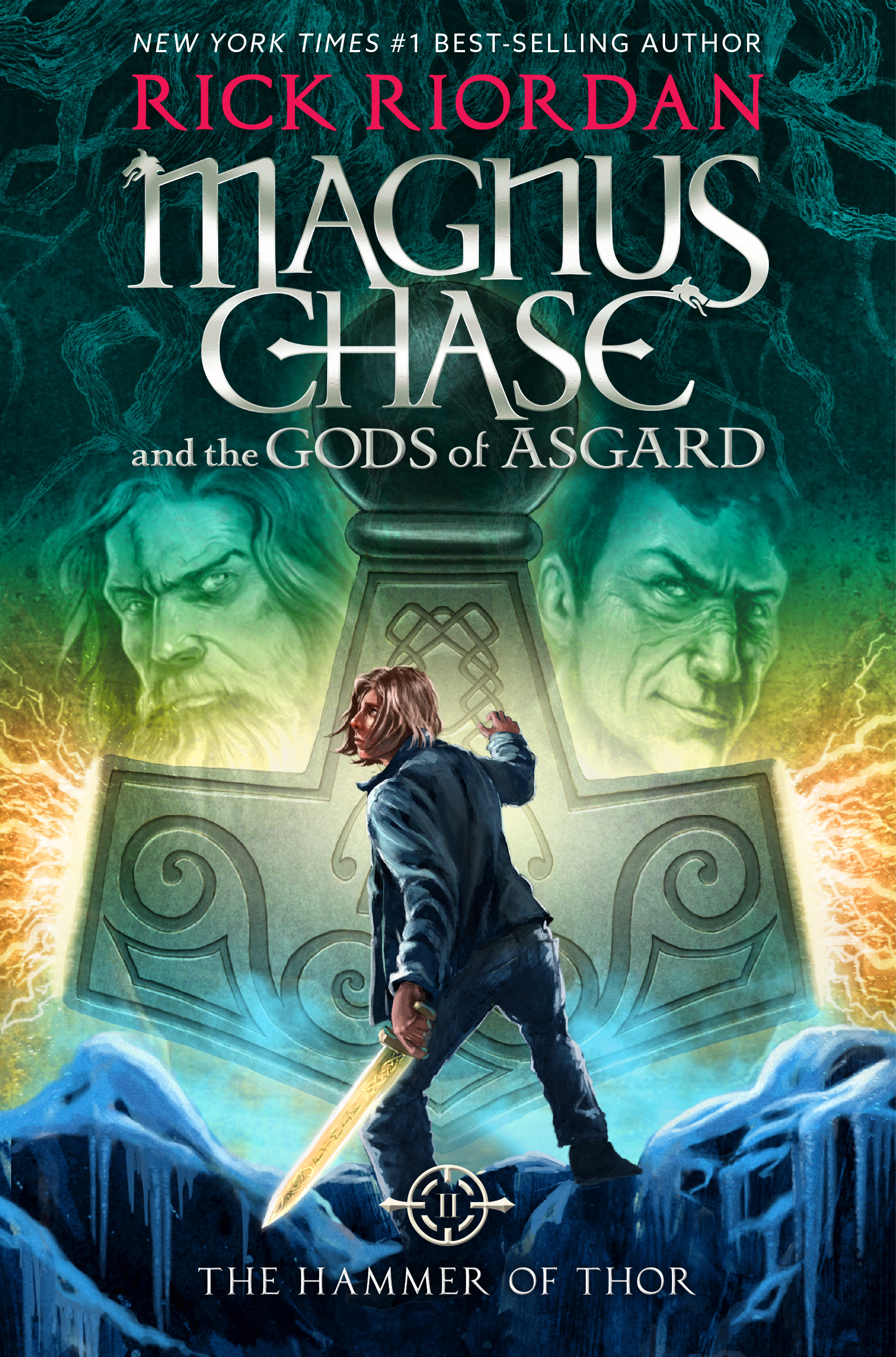 Cover Image of Magnus Chase and the Gods of Asgard, Book 2:  The Hammer of Thor