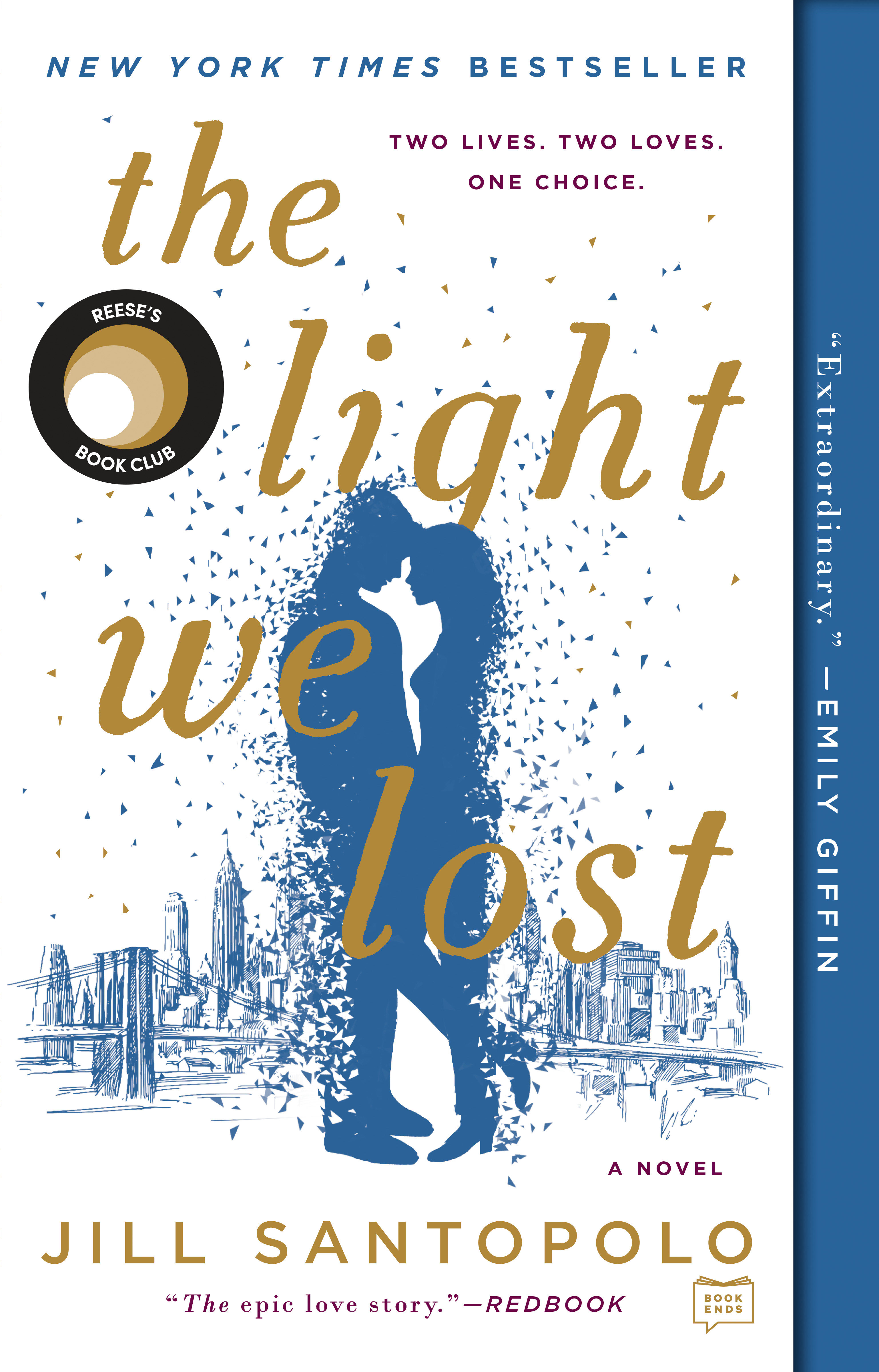 The light we lost cover image