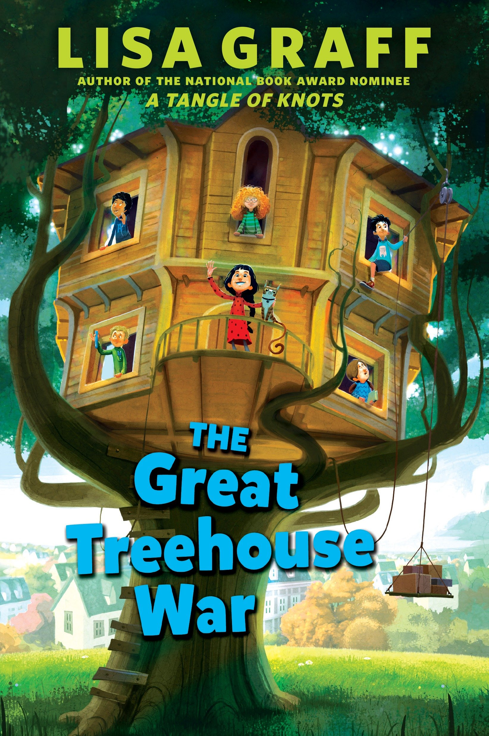 The great treehouse war cover image