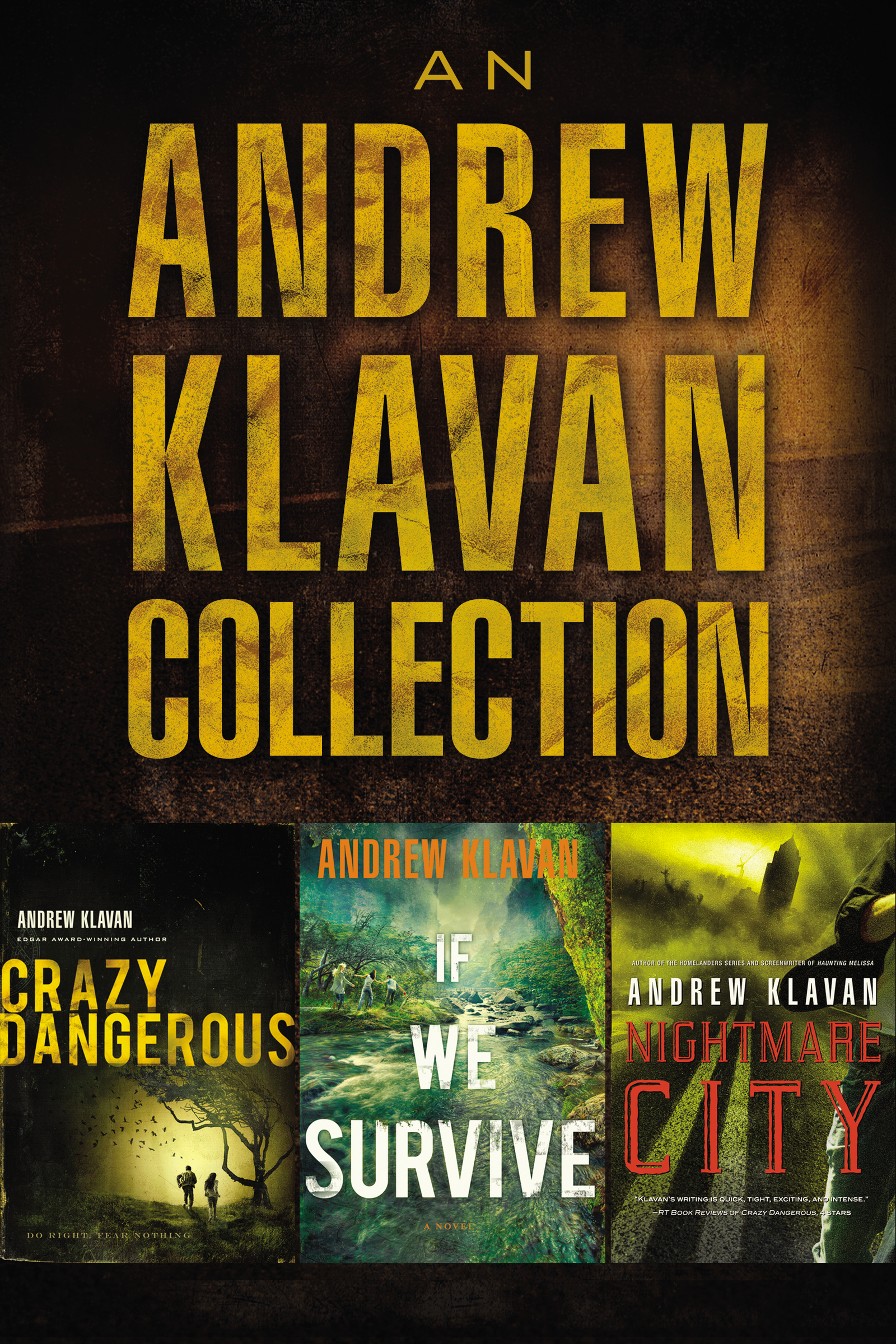 Cover Image of An Andrew Klavan Collection