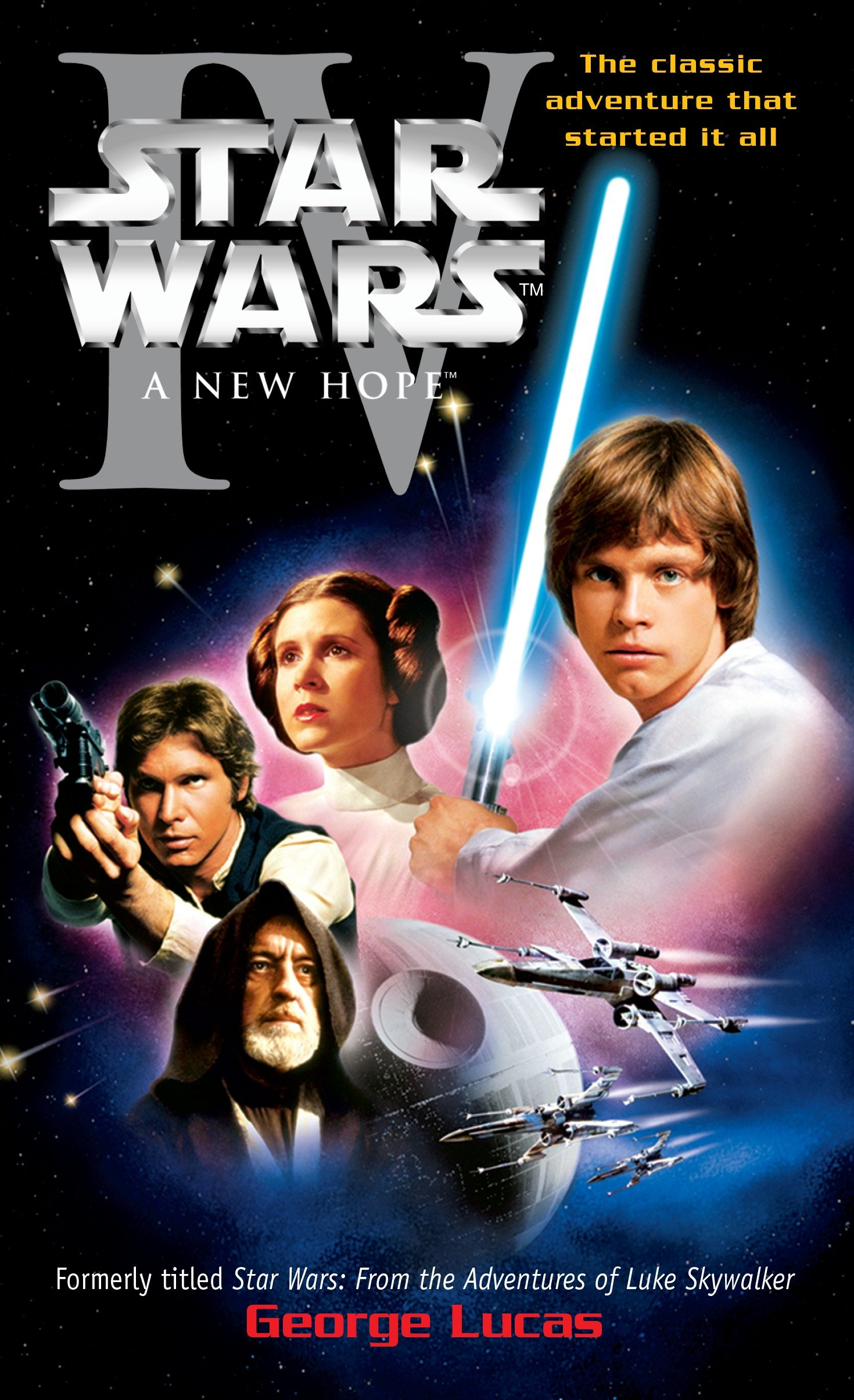 Cover image for A New Hope: Star Wars: Episode IV [electronic resource] :