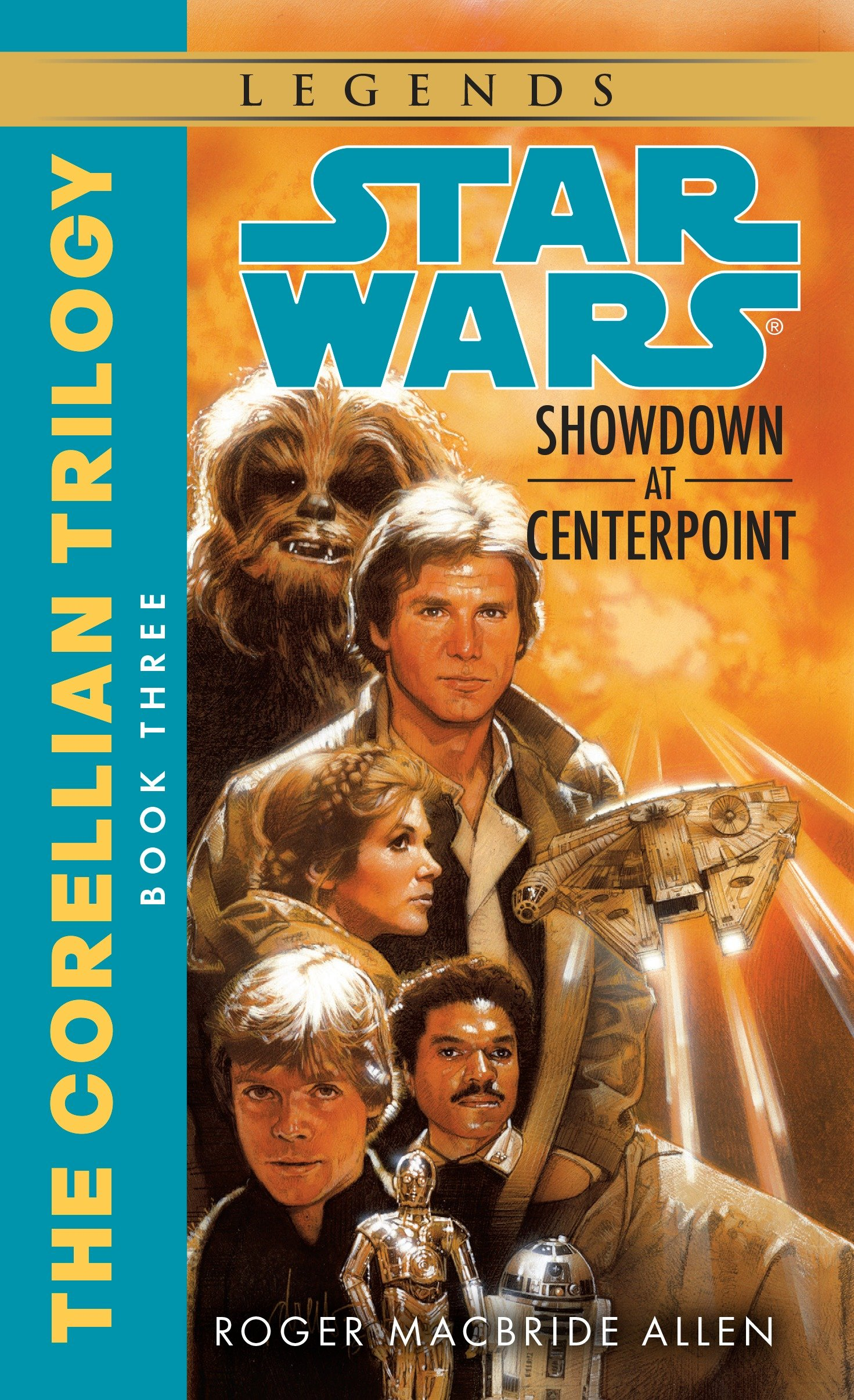 Cover image for Showdown at Centerpoint: Star Wars Legends (The Corellian Trilogy) [electronic resource] :