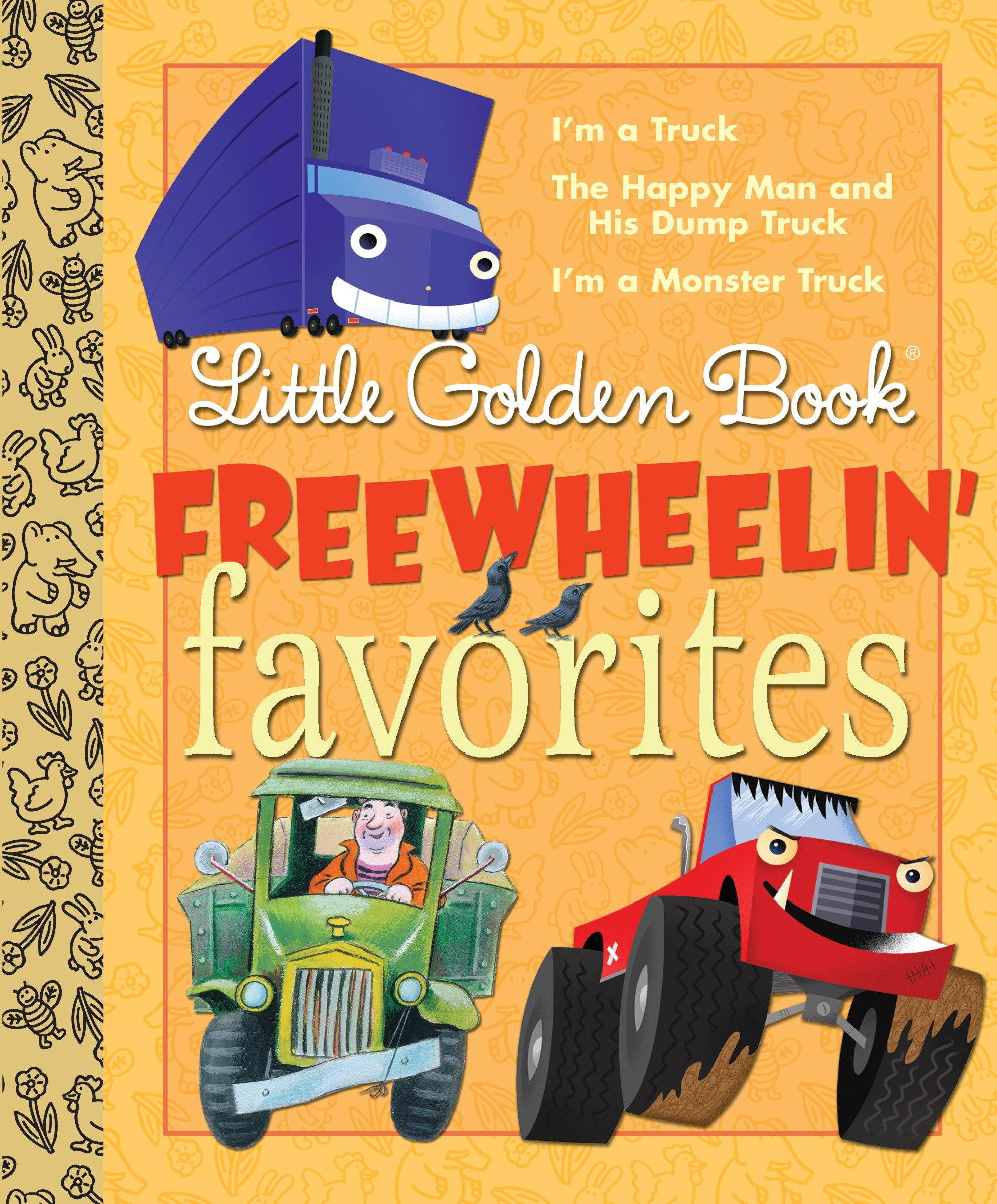 Cover image for Little Golden Book Freewheelin Favorites [electronic resource] :
