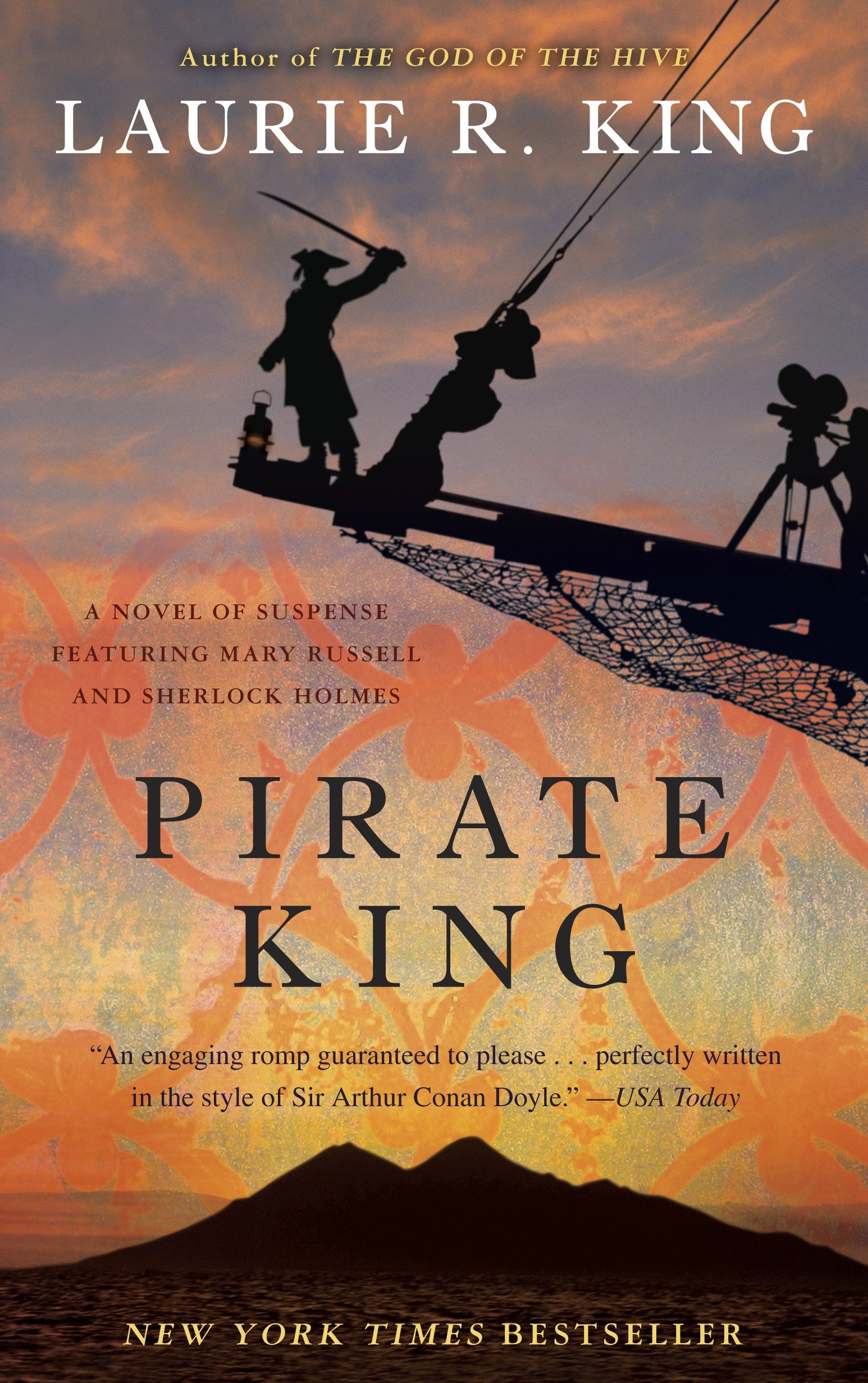Pirate king a novel of suspense featuring Mary Russell and Sherlock Holmes cover image