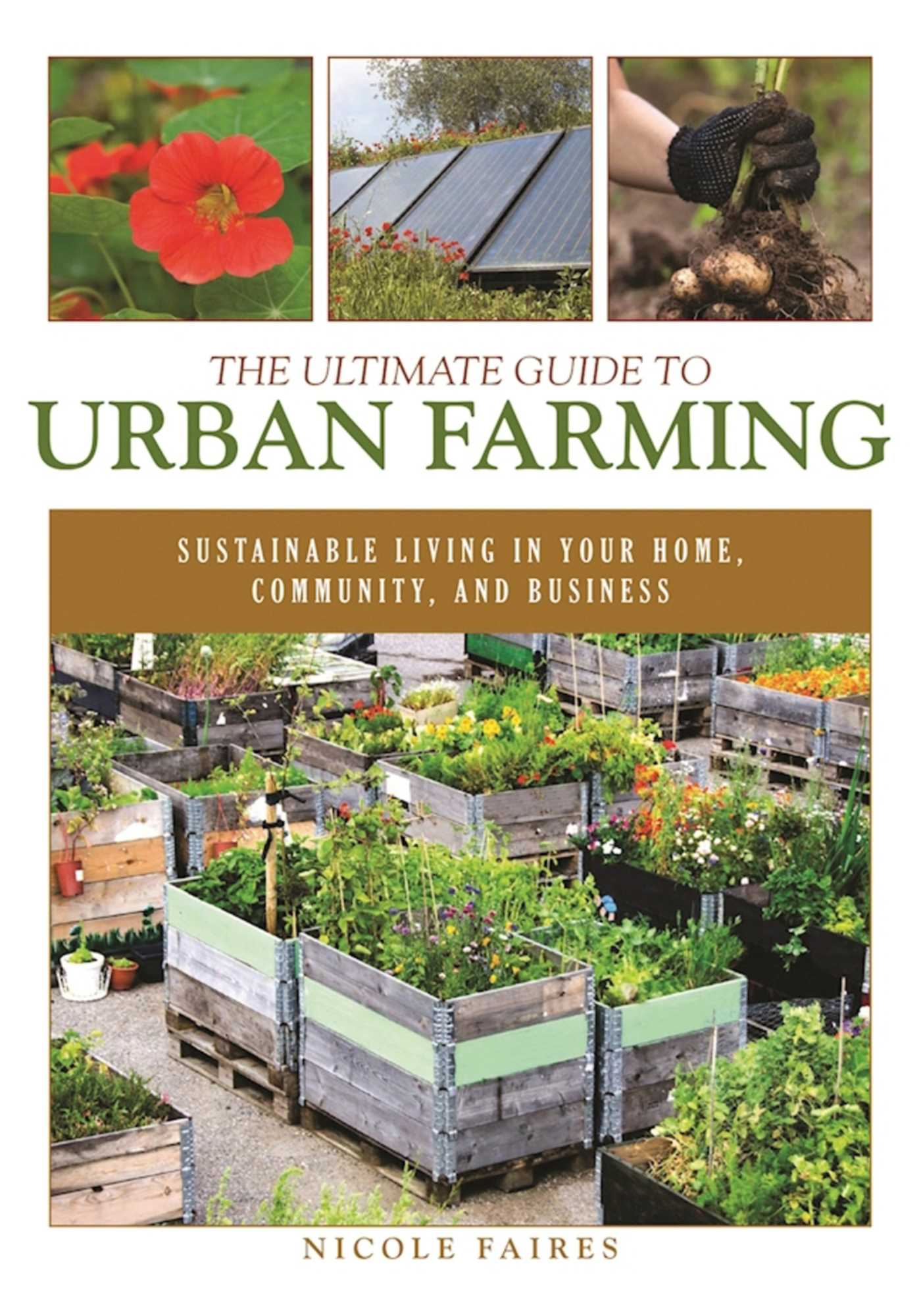 Cover Image of The Ultimate Guide to Urban Farming