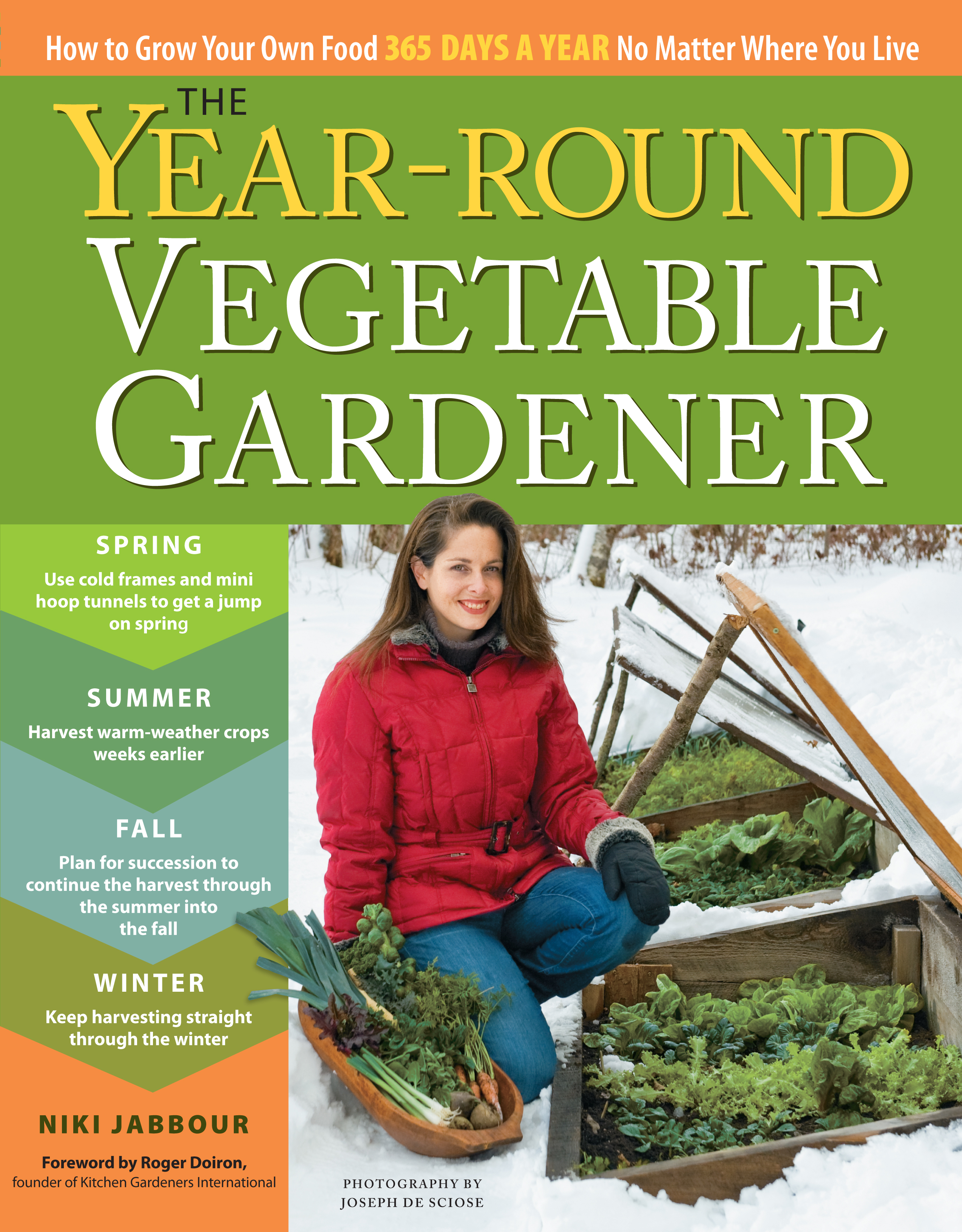 Cover Image of The Year-Round Vegetable Gardener