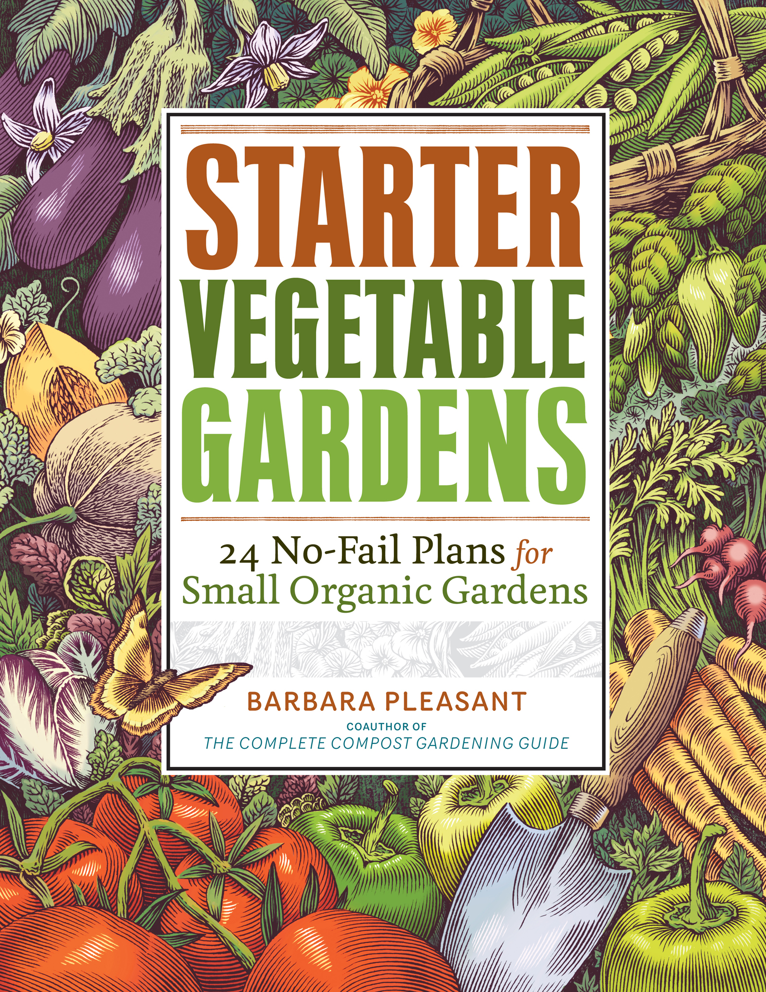 Cover Image of Starter Vegetable Gardens