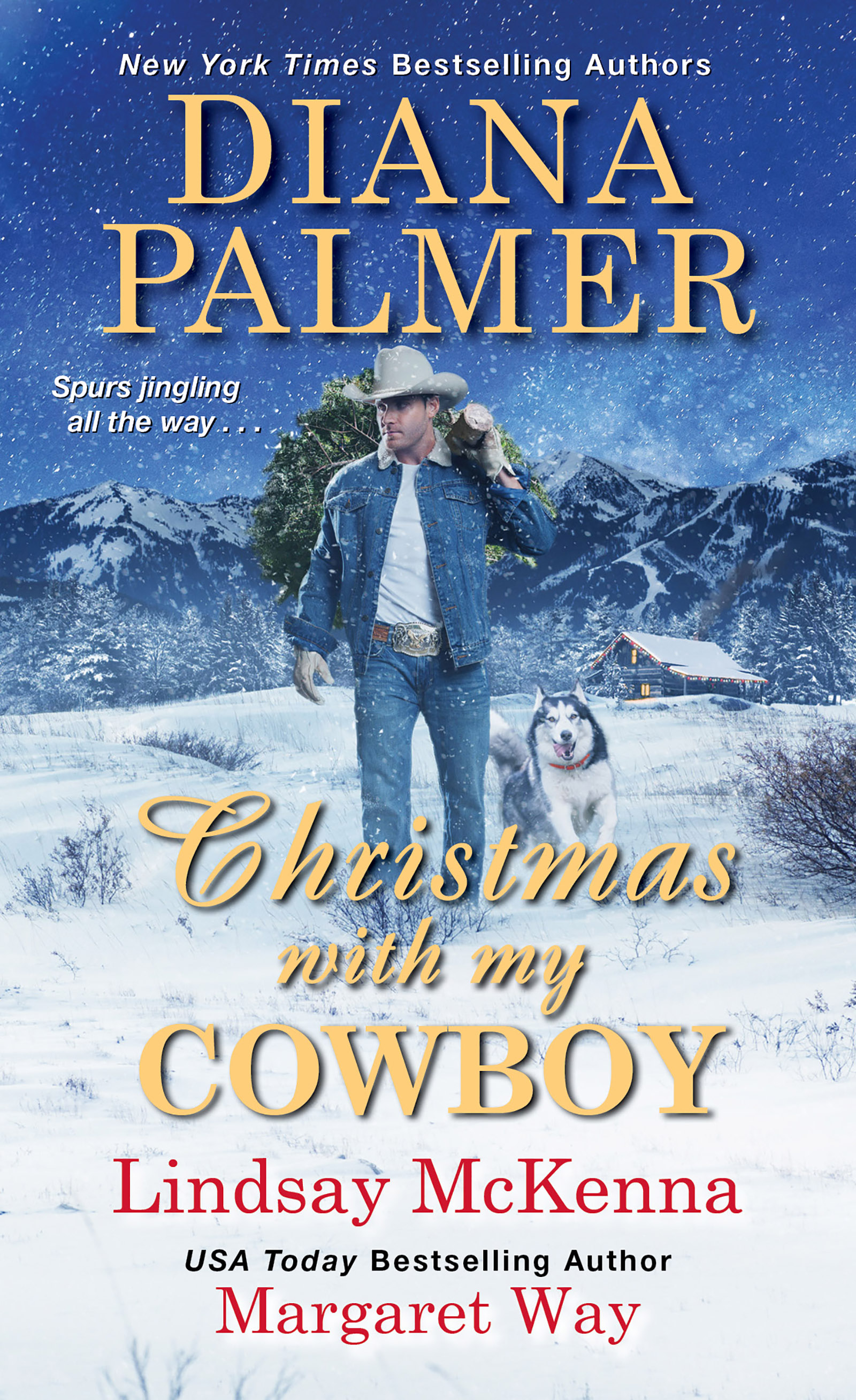 Christmas with my cowboy cover image