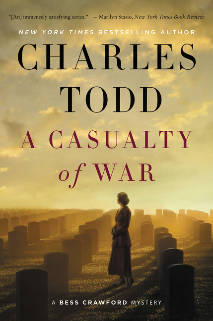 A casualty of war A Bess Crawford Mystery cover image