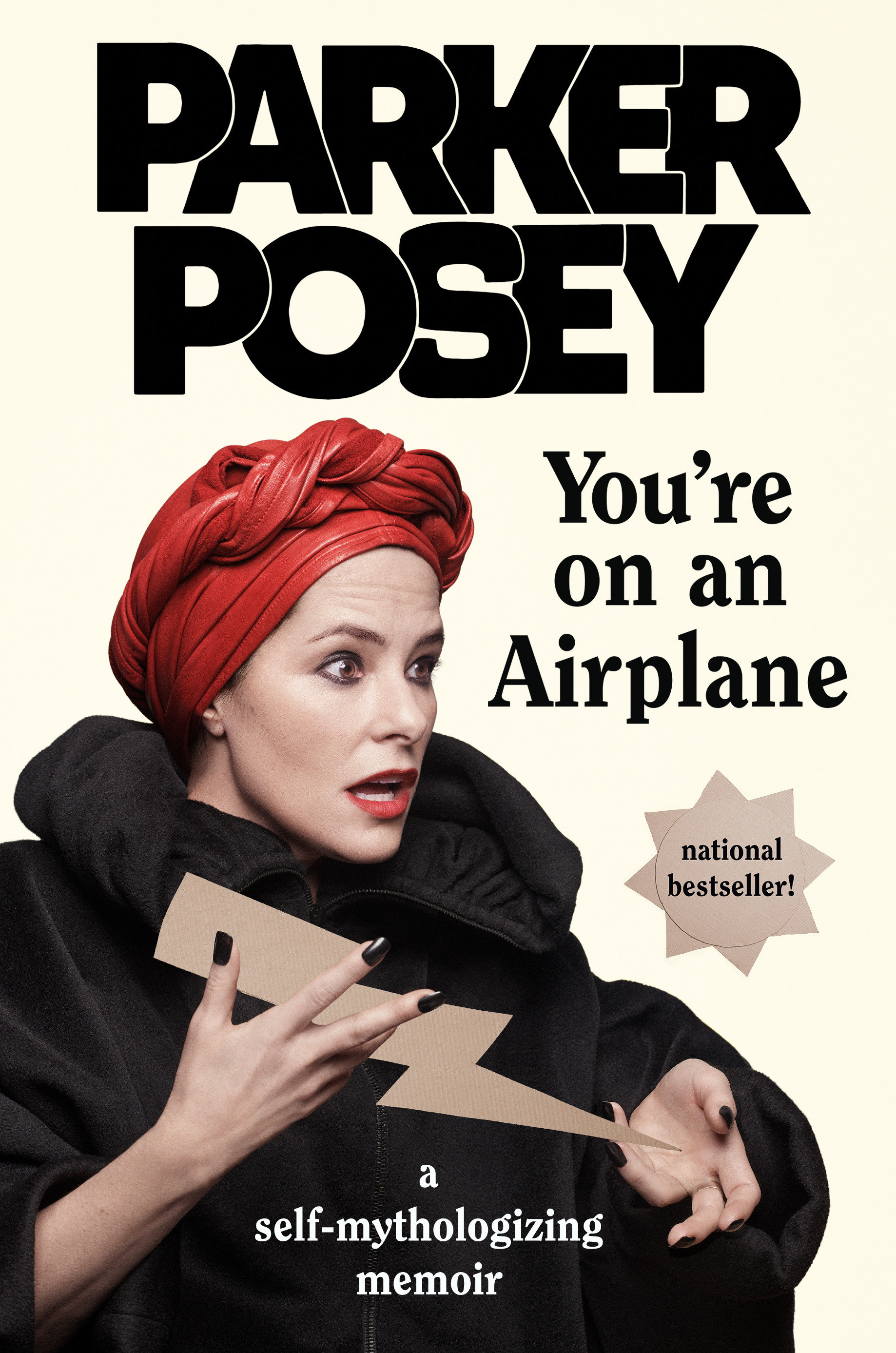 You're on an airplane a self-mythologizing memoir cover image