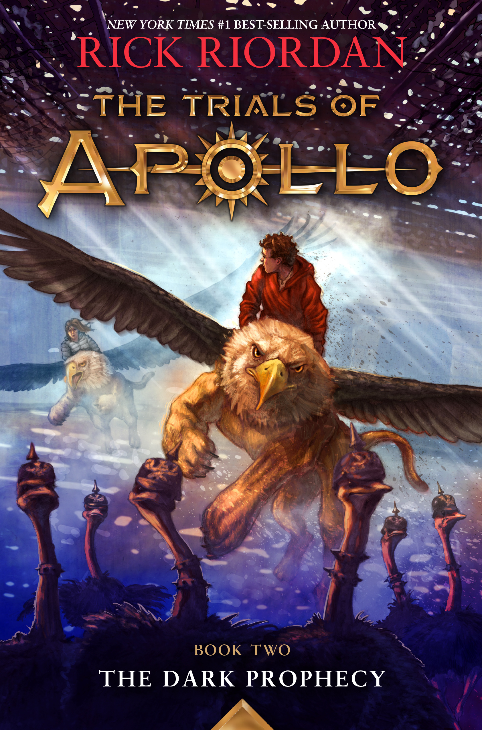 Cover Image of The Trials of Apollo, Book Two: Dark Prophecy