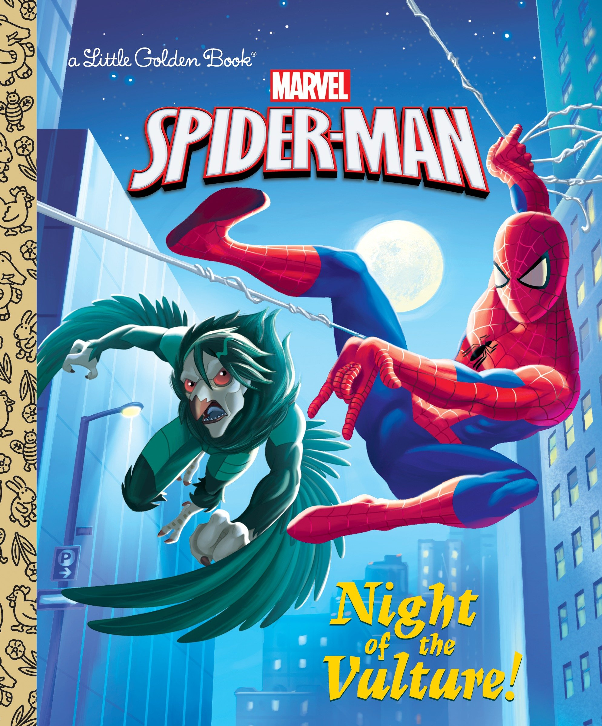 Cover Image of Night of the Vulture! (Marvel: Spider-Man)