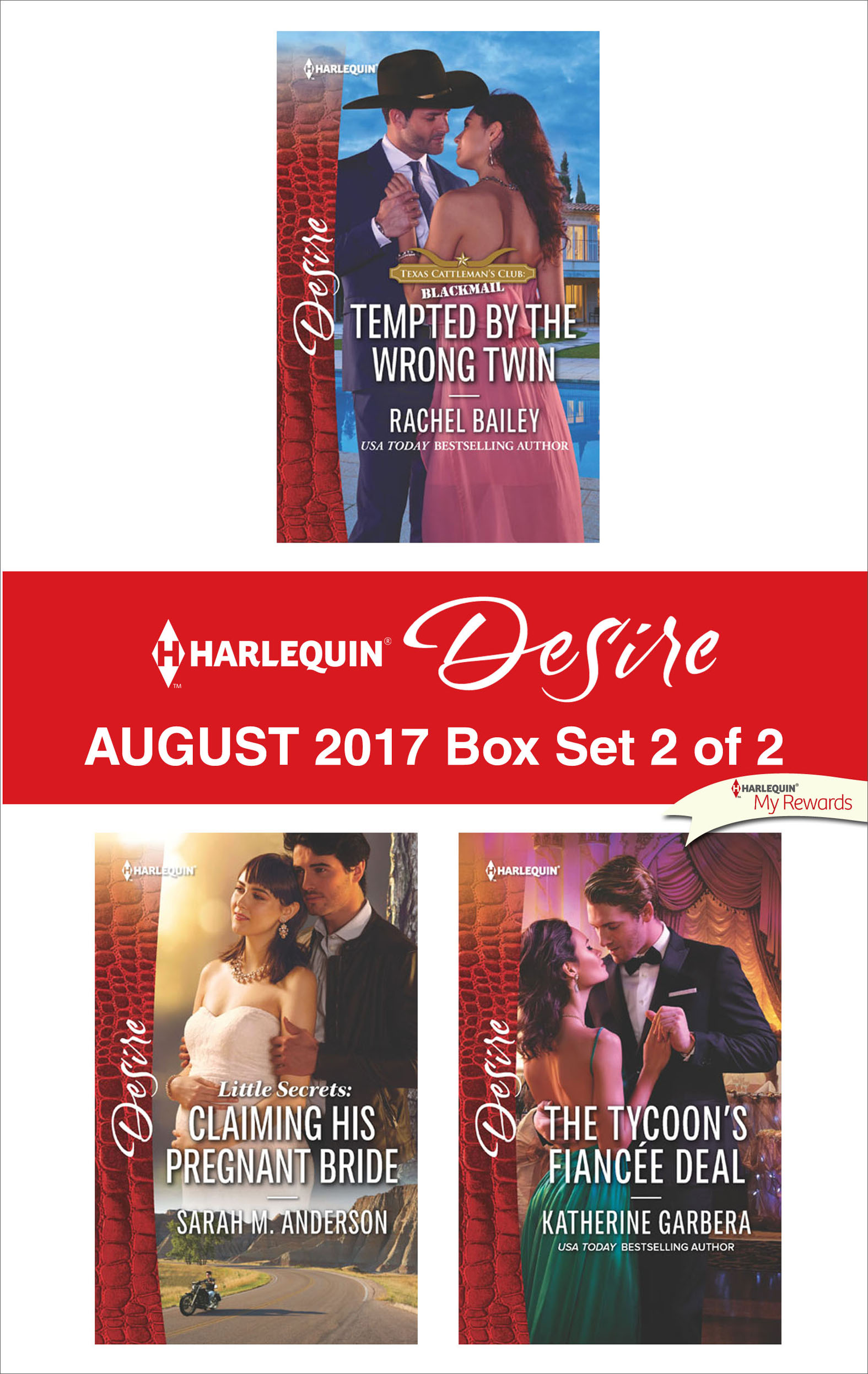 Harlequin Desire August 2017 - Box Set 2 of 2 An Anthology