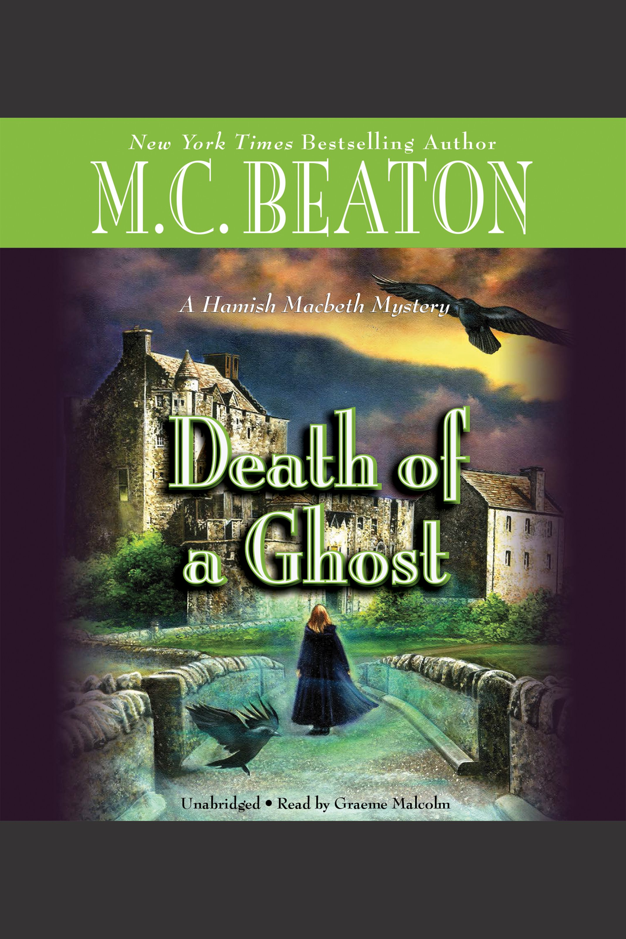 Death of a ghost cover image