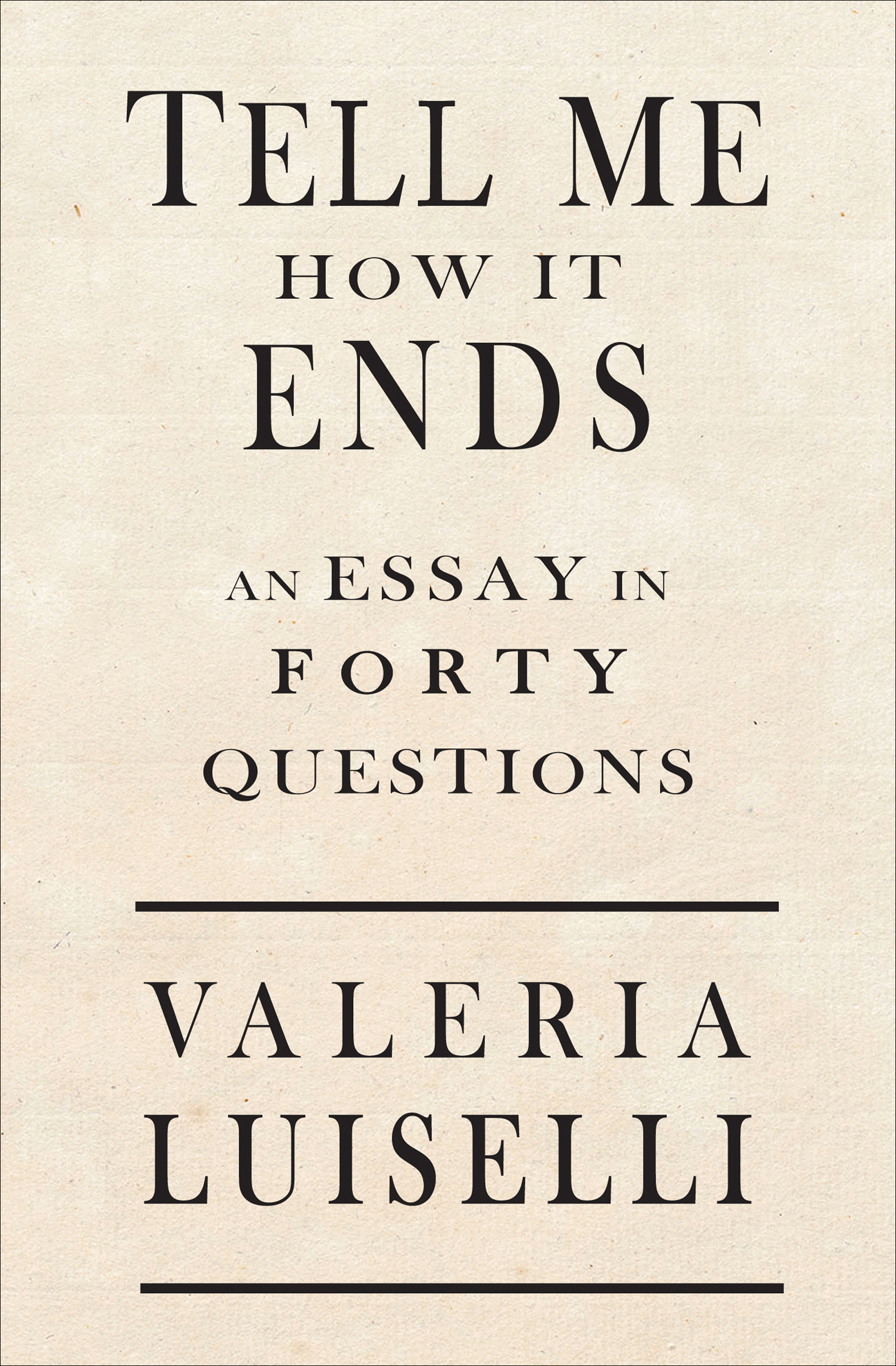 Tell me how it ends [eBook] : an essay in forty questions