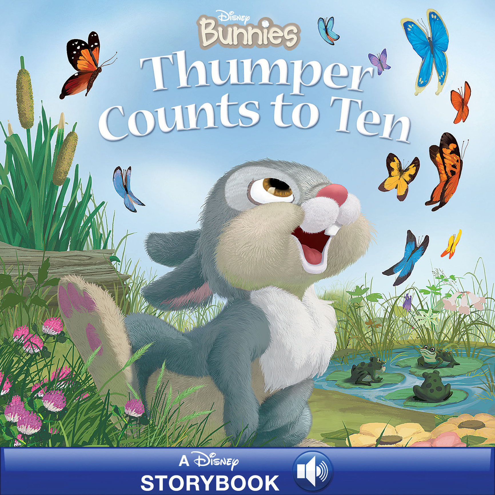 Disney Bunnies: Thumper Counts to Ten Read-Along
