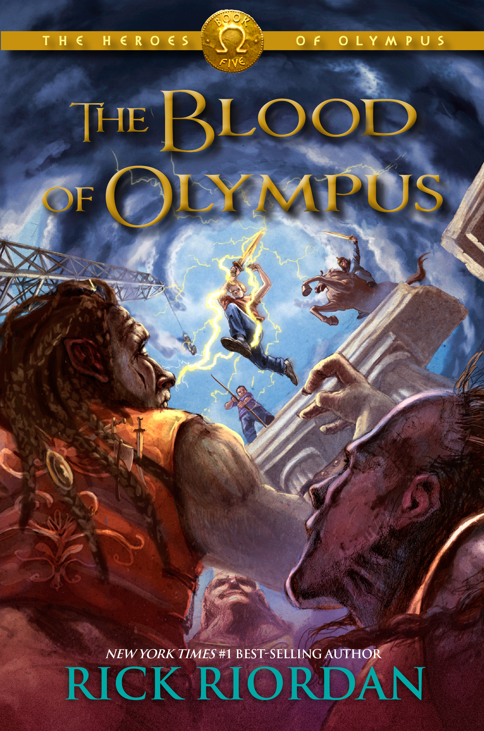Cover Image of The Heroes of Olympus,Book Five: The Blood of Olympus