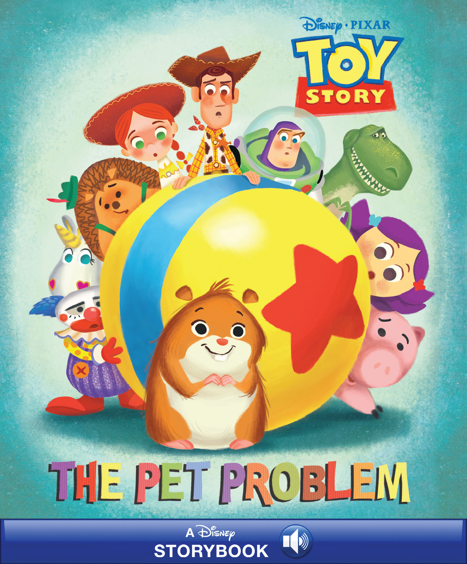 Disney Classic Stories: Toy Story: The Pet Problems Read-Along