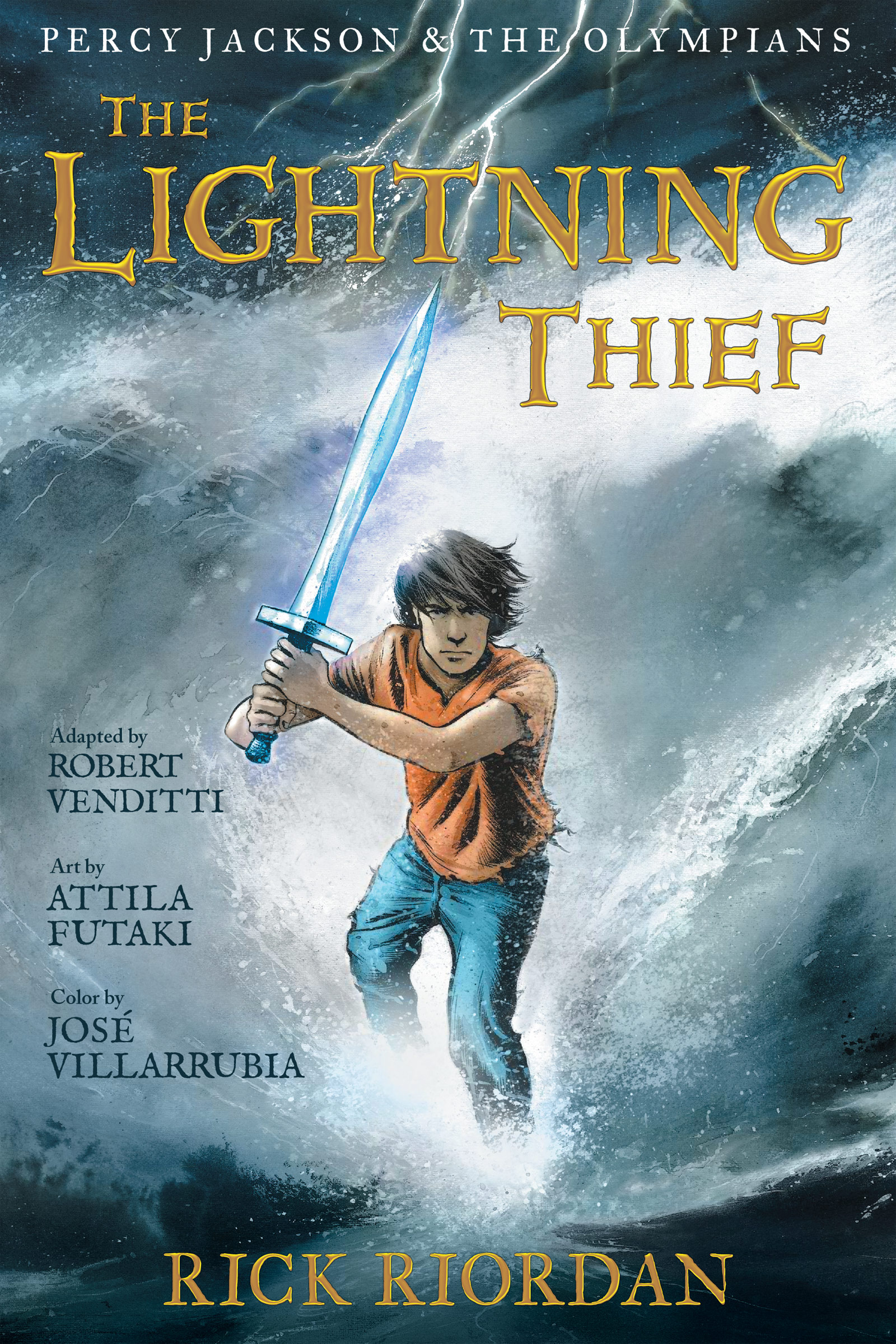 Cover Image of Percy Jackson and the Olympians:  The Lightning Thief: The Graphic Novel
