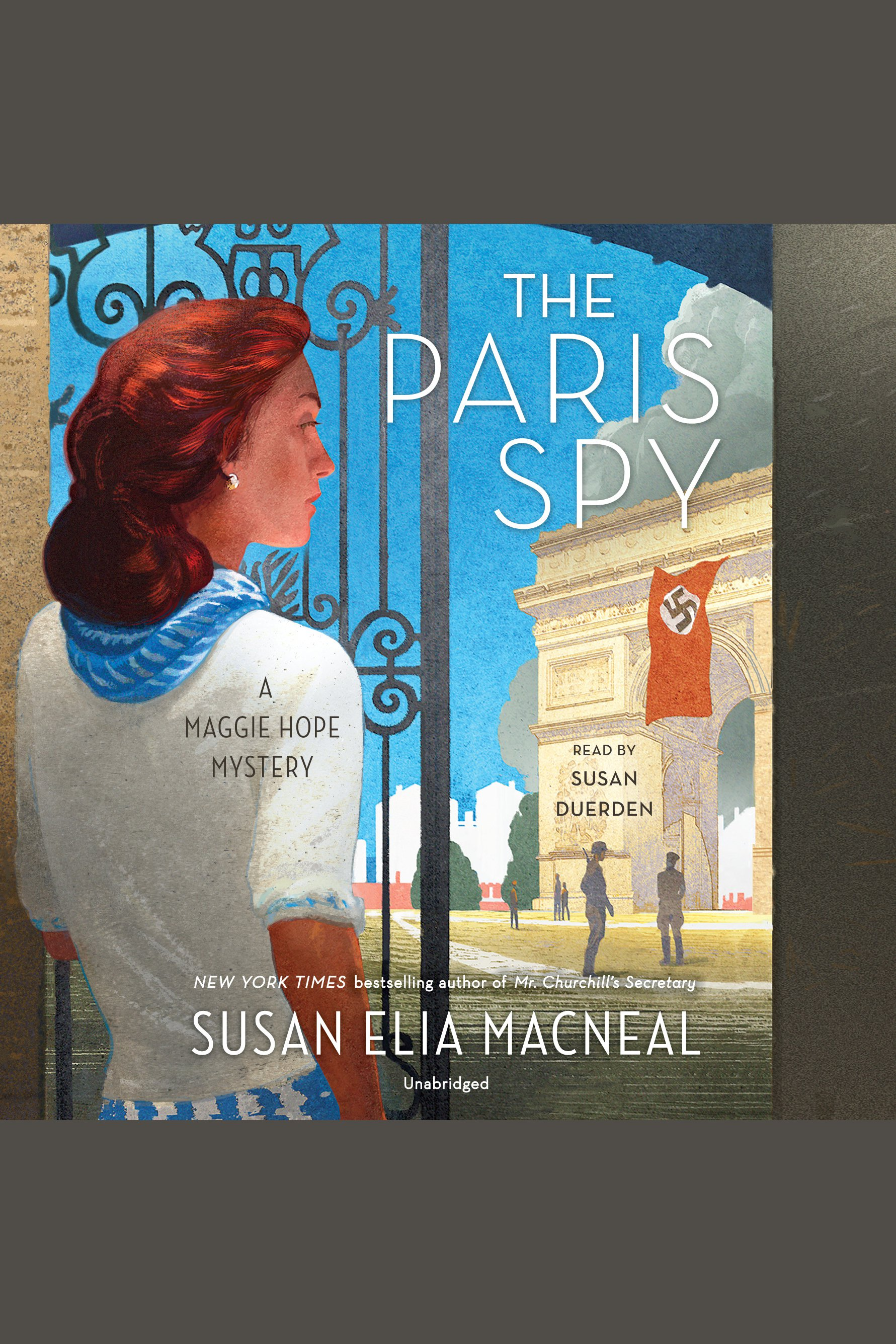 The Paris spy a Maggie Hope mystery cover image