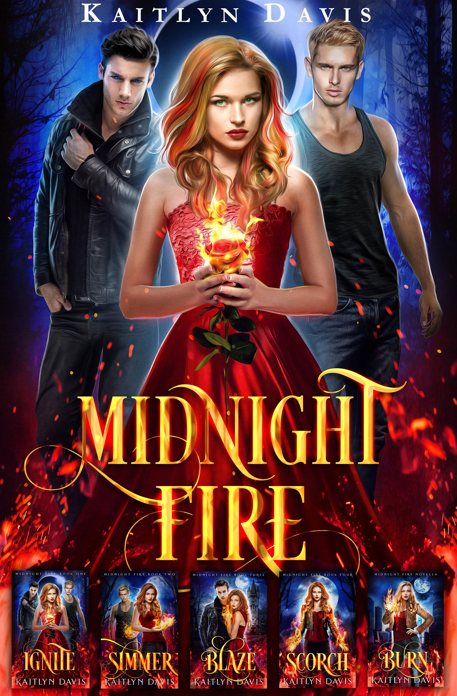 Cover Image of The Complete Midnight Fire Series