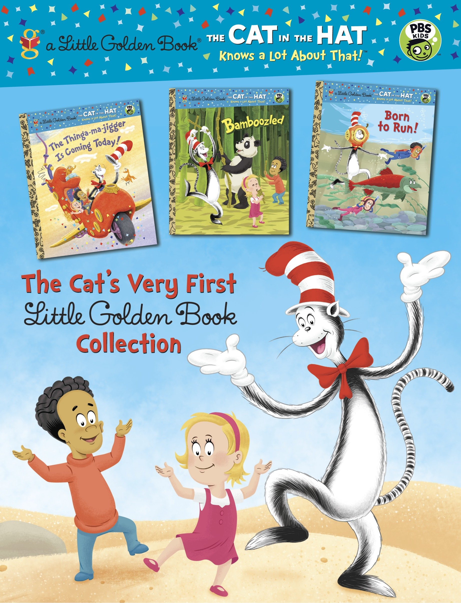 Cover image for The Cat's Very First Little Golden Book Collection (Dr. Seuss/Cat in the Hat) [electronic resource] :