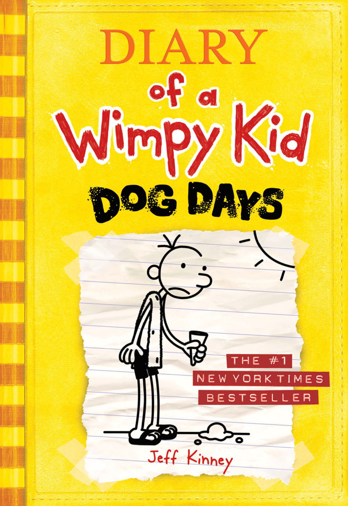 Cover Image of Dog Days (Diary of a Wimpy Kid #4)