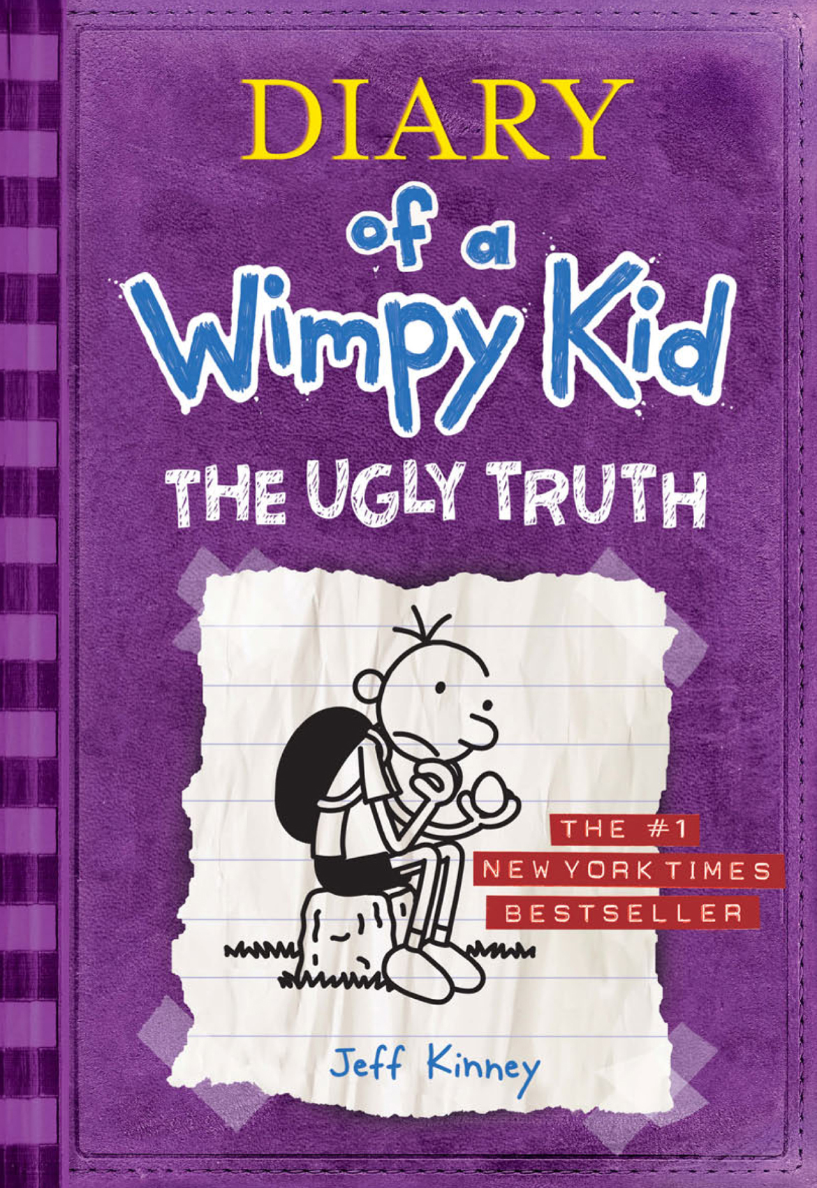 Cover Image of The Ugly Truth (Diary of a Wimpy Kid #5)
