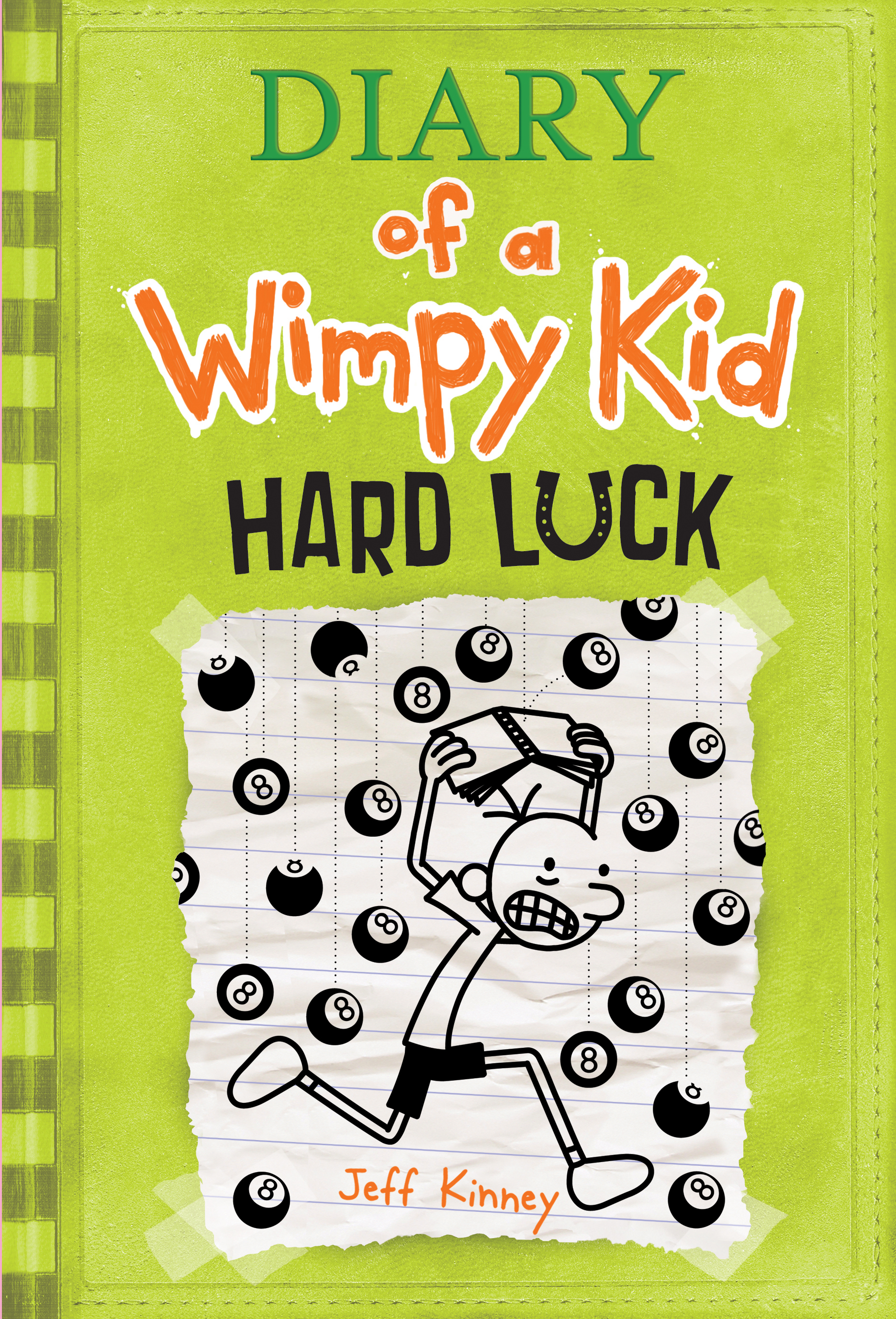 Cover Image of Hard Luck (Diary of a Wimpy Kid #8)