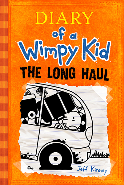 Cover Image of The Long Haul (Diary of a Wimpy Kid #9)