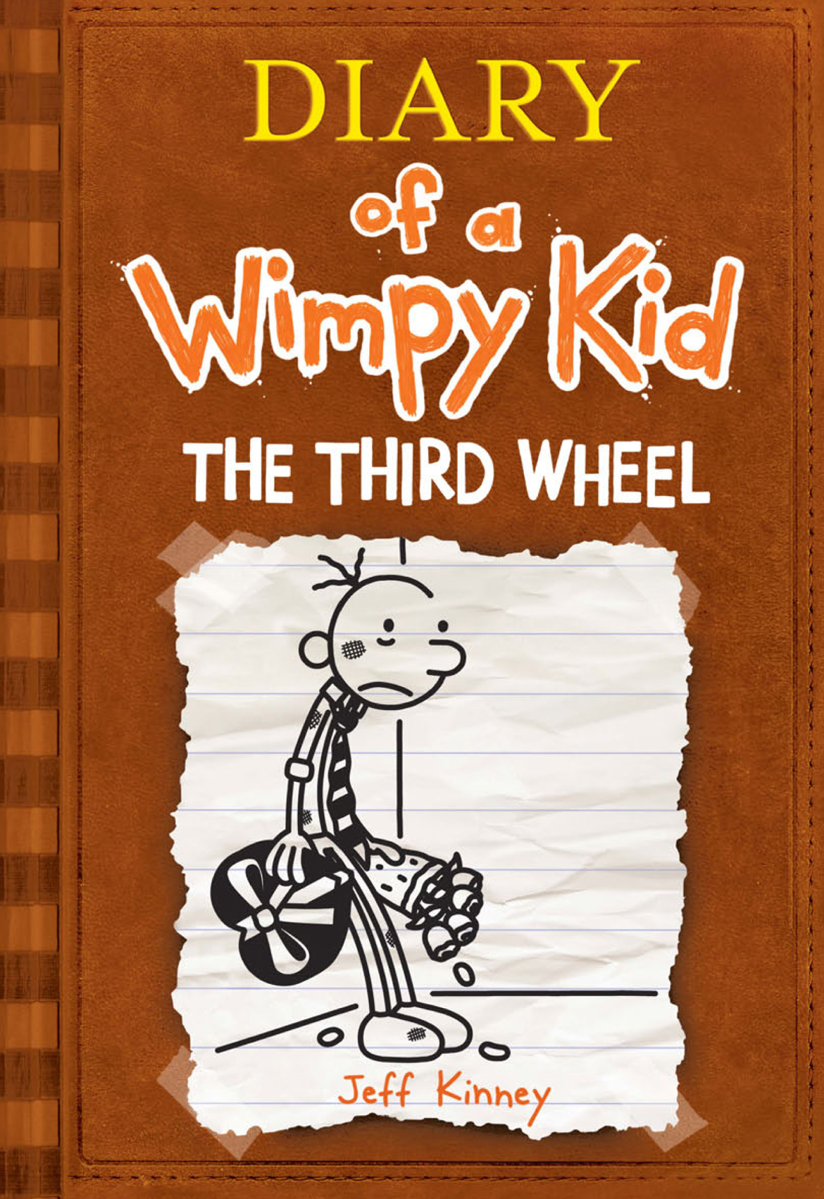 Cover Image of The Third Wheel (Diary of a Wimpy Kid #7)