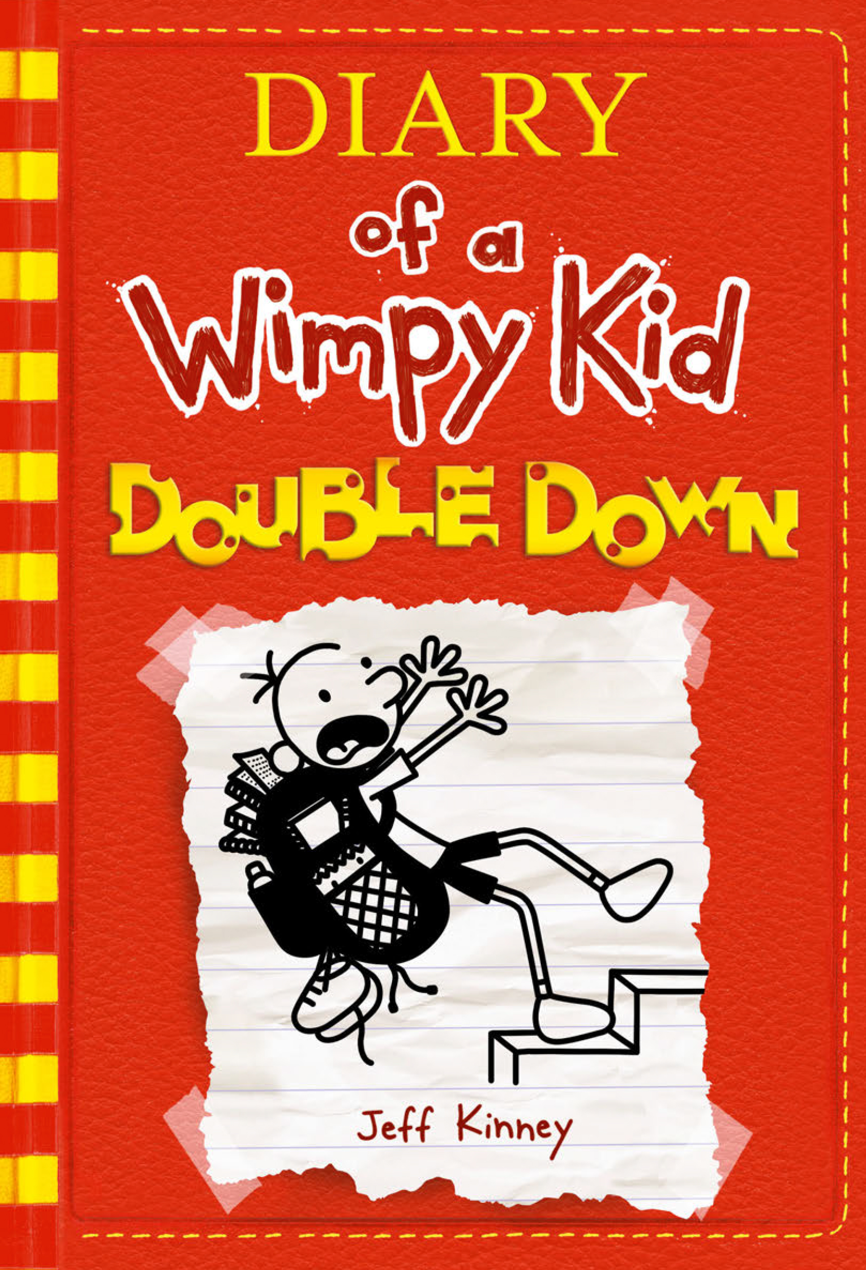 Cover Image of Double Down (Diary of a Wimpy Kid #11)