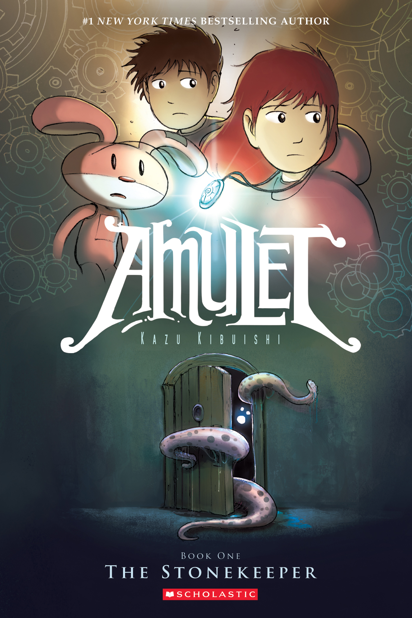 Cover Image of The Stonekeeper (Amulet #1)