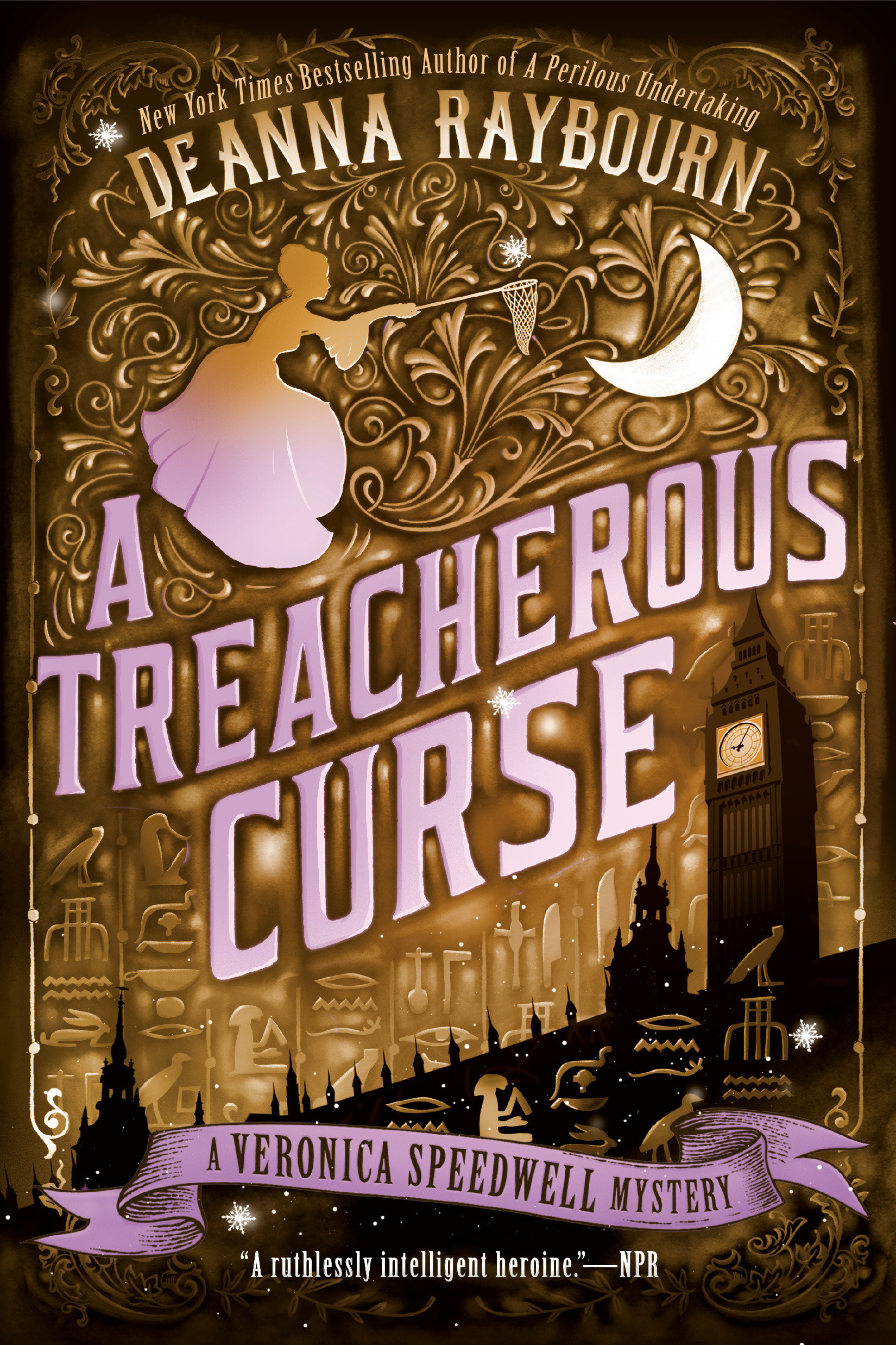 A treacherous curse a Veronica Speedwell mystery cover image