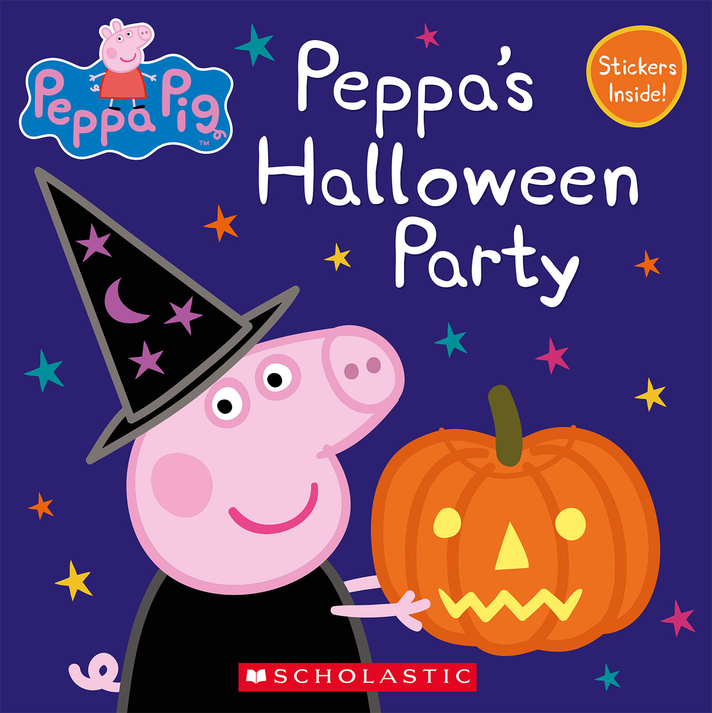 Cover Image of Peppa's Halloween Party (Peppa Pig: 8x8)