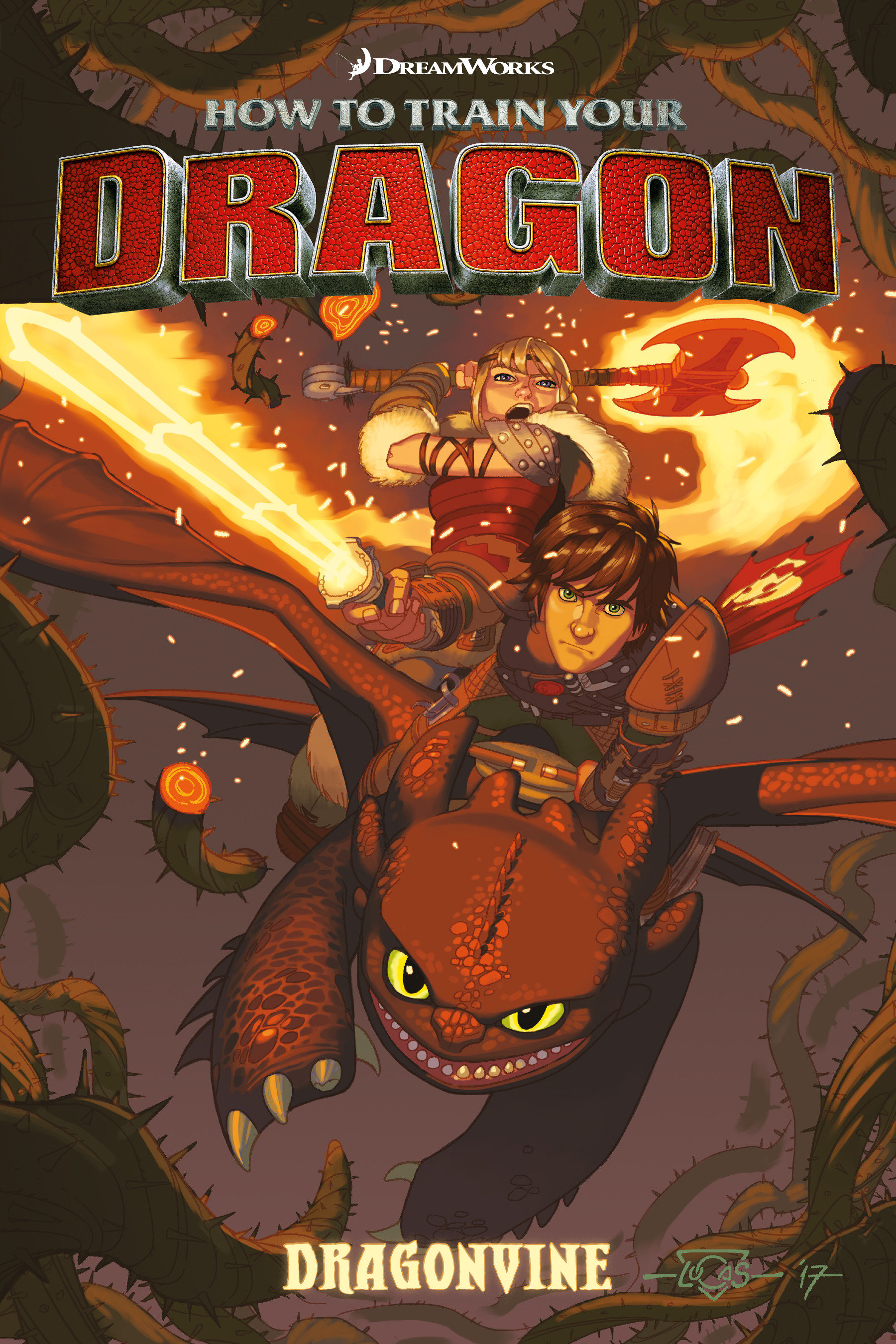 How to Train Your Dragon: Dragonvine cover image