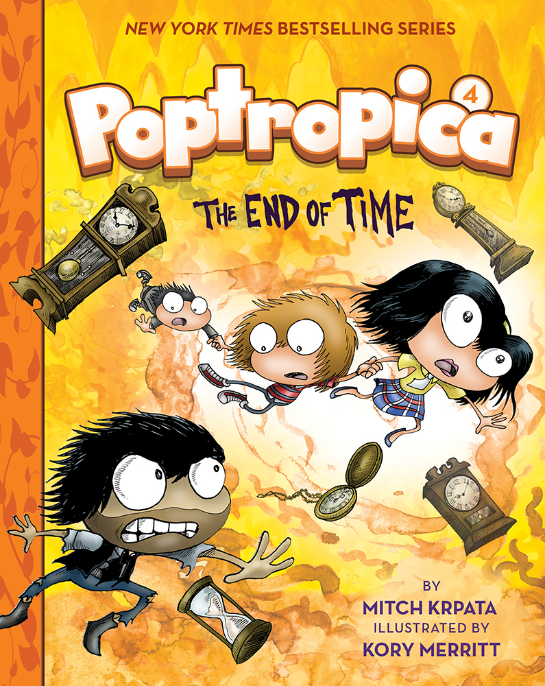 Cover Image of The End of Time (Poptropica Book 4)