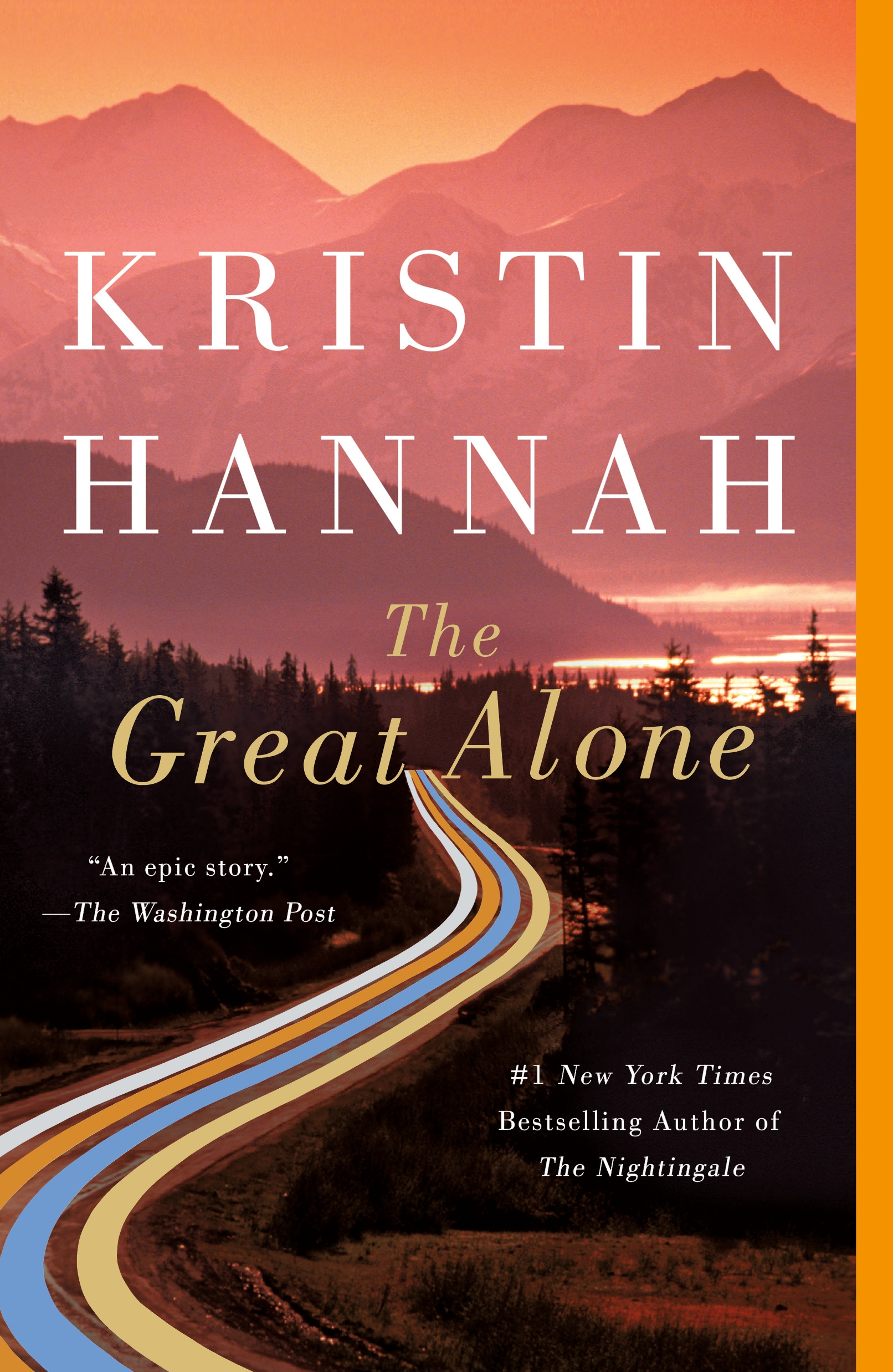 Cover image for The Great Alone [electronic resource] : A Novel